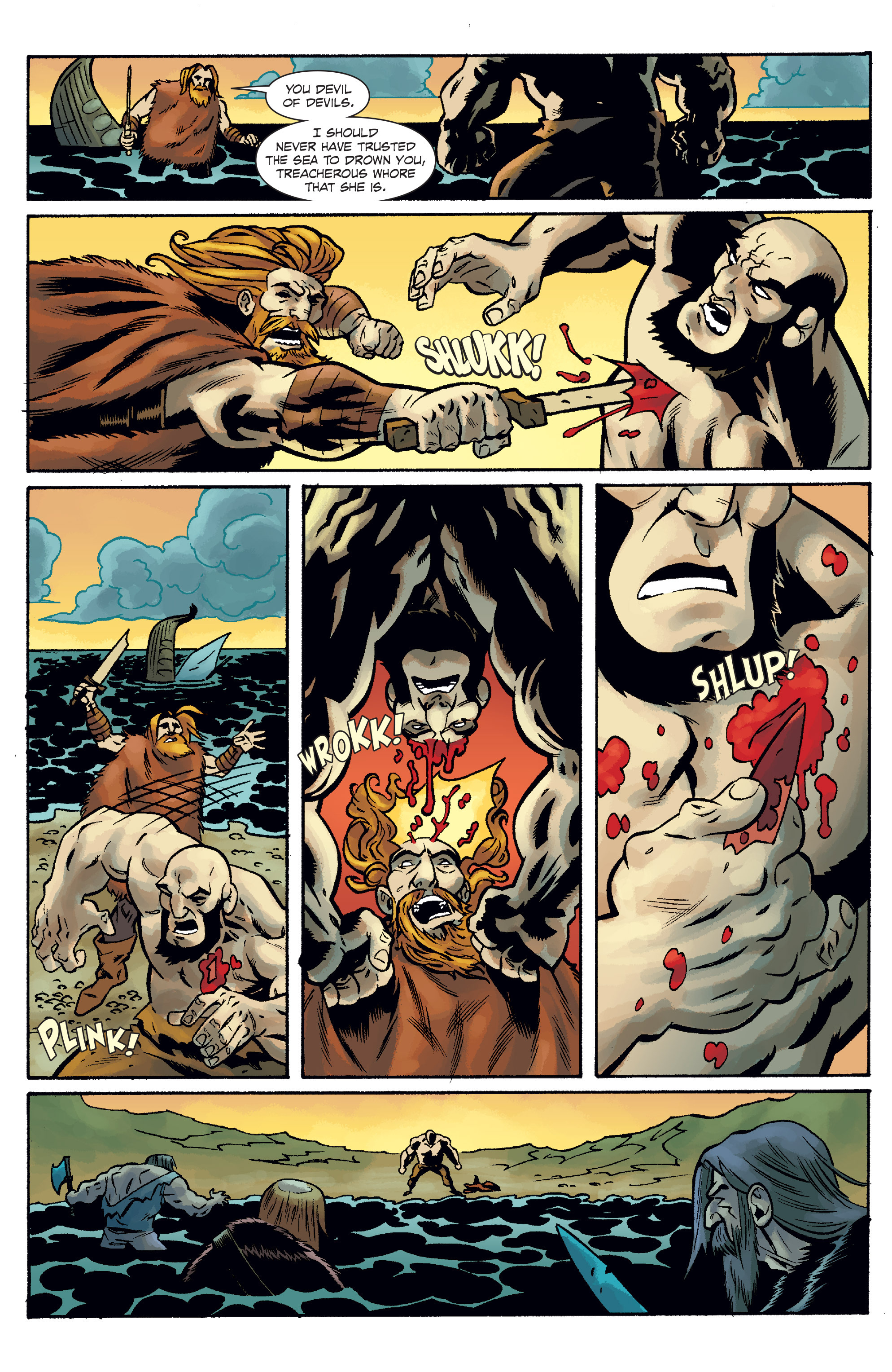 Read online The Anchor comic -  Issue # TPB 2 - 42