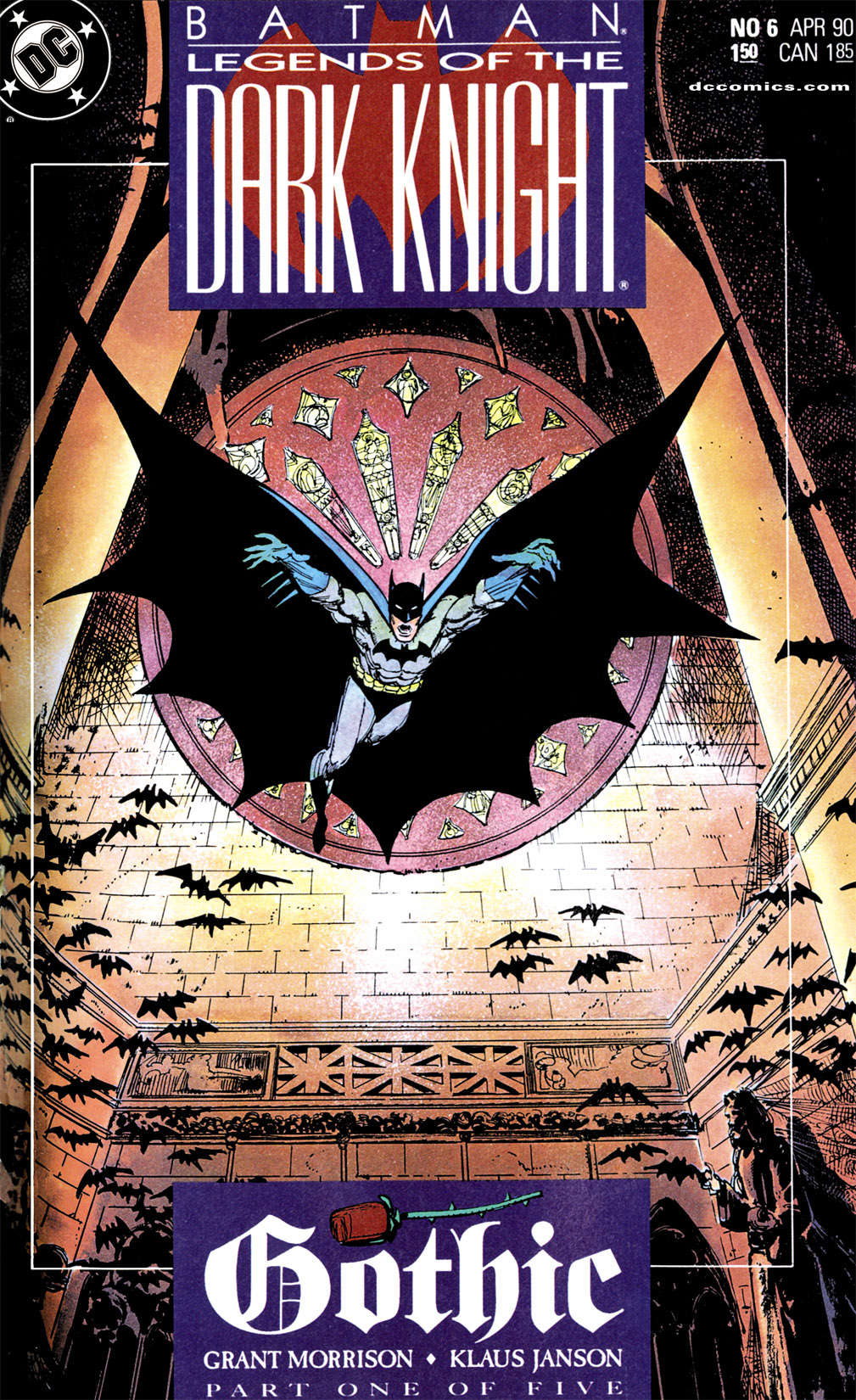 Batman: Legends of the Dark Knight 6 Page 1