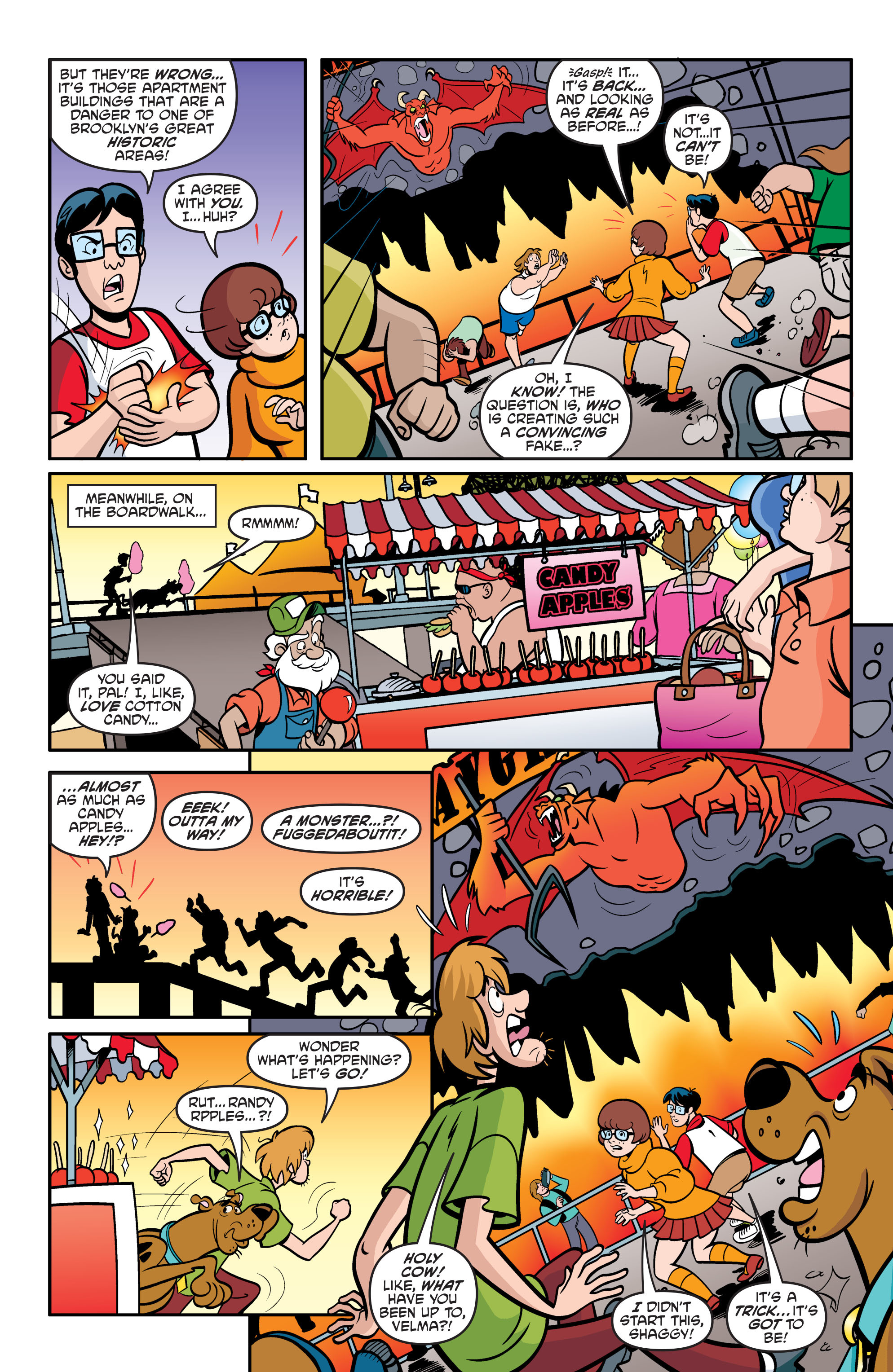 Read online Scooby-Doo: Where Are You? comic -  Issue #54 - 17