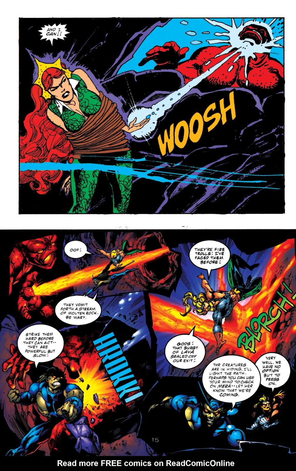Aquaman (1994) Issue #52 #58 - English 15