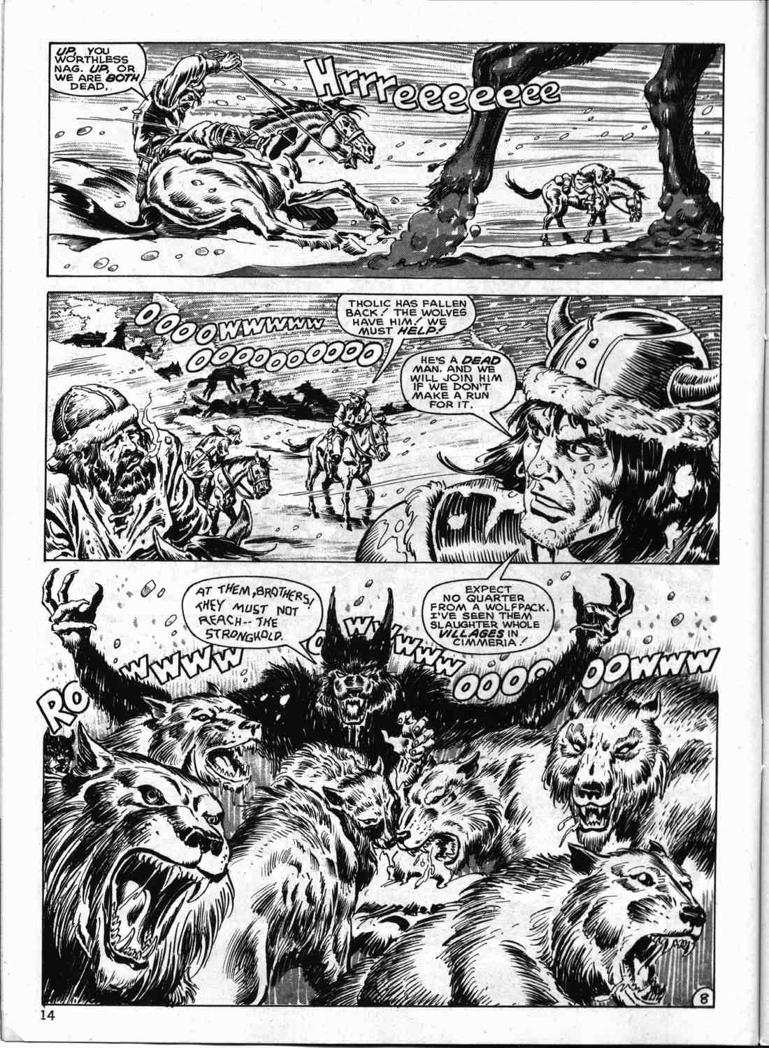 The Savage Sword Of Conan Issue #133 #134 - English 13