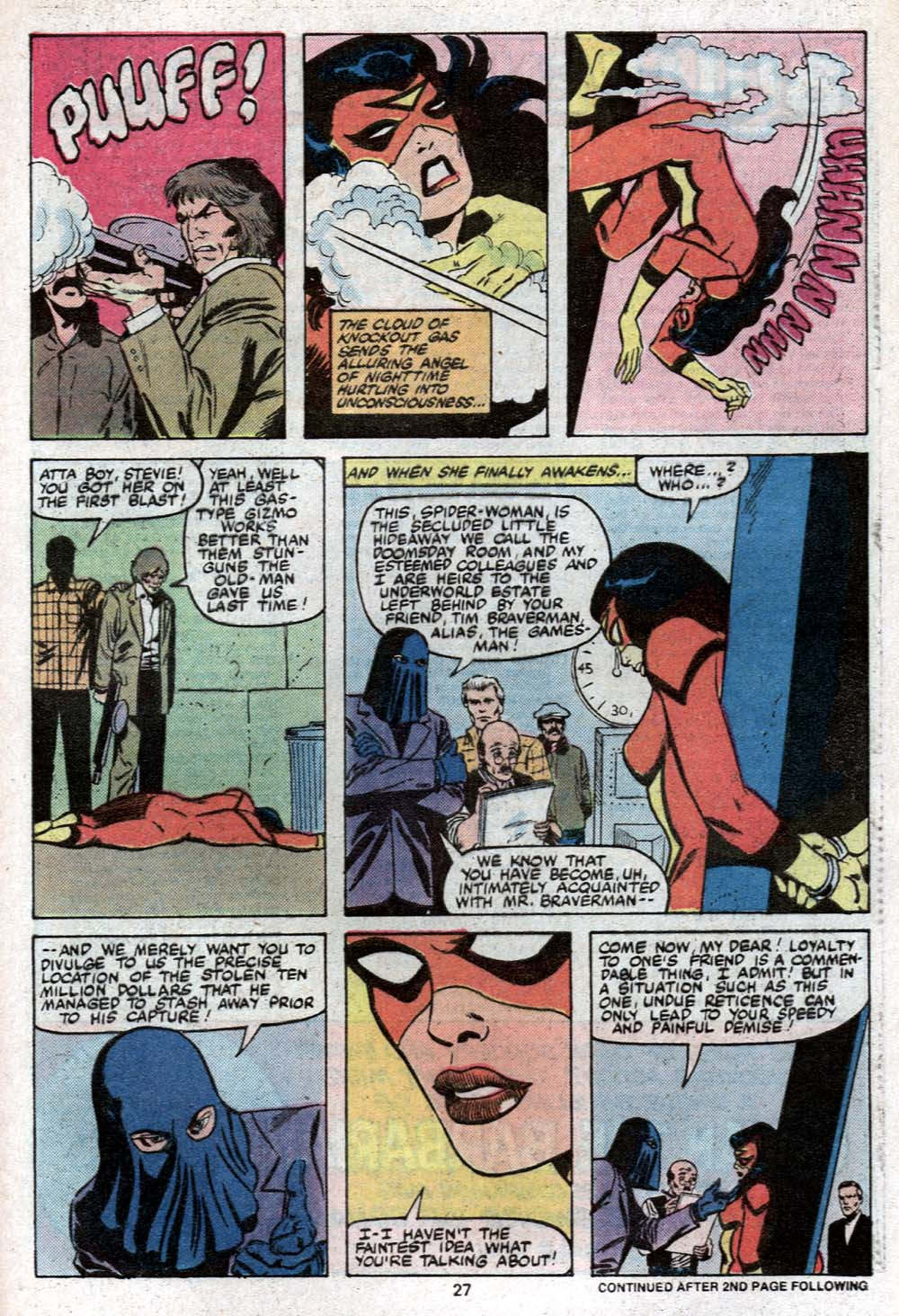 Spider-Woman (1978) Issue #24 #24 - English 18