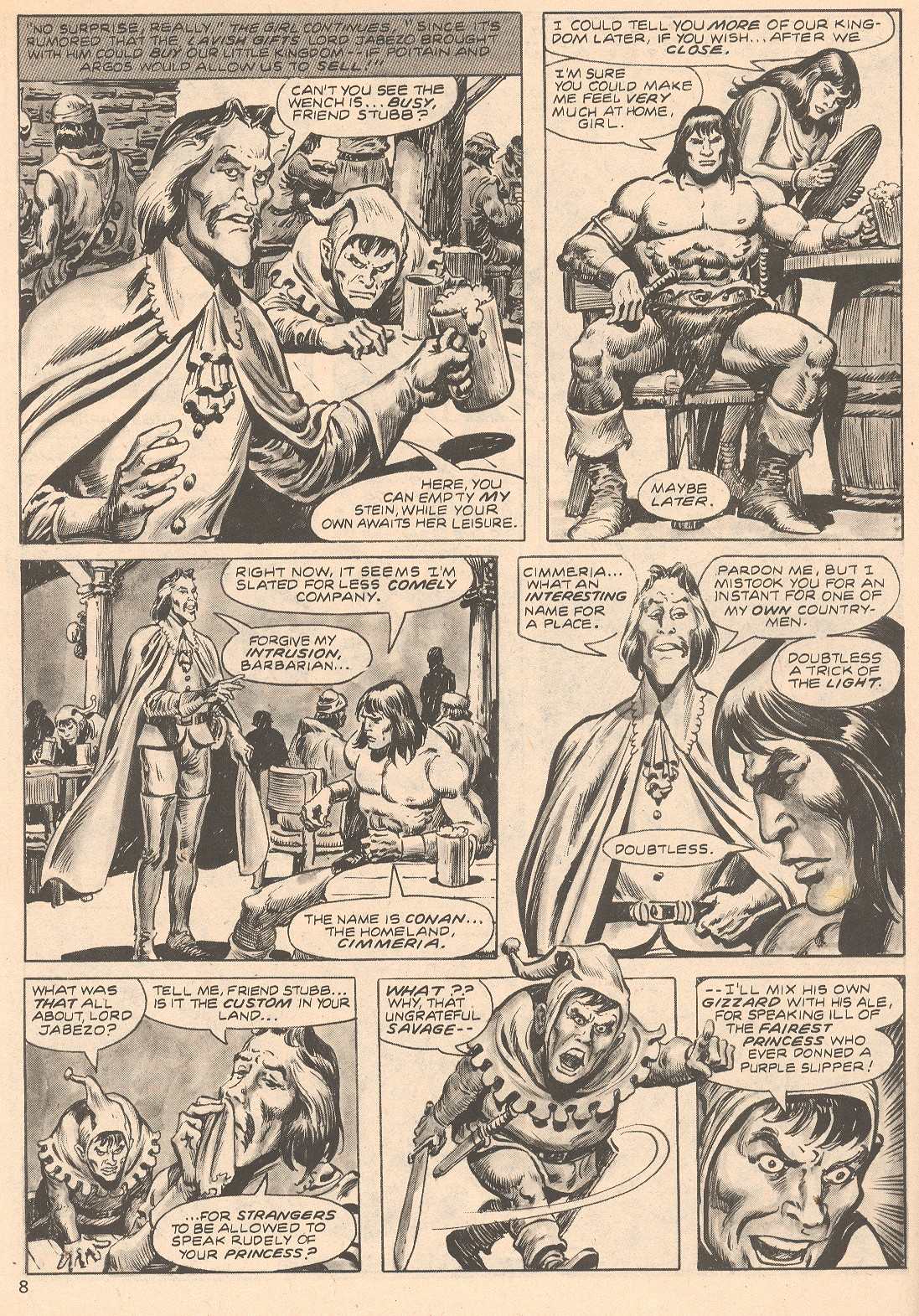 The Savage Sword Of Conan Issue #66 #67 - English 8