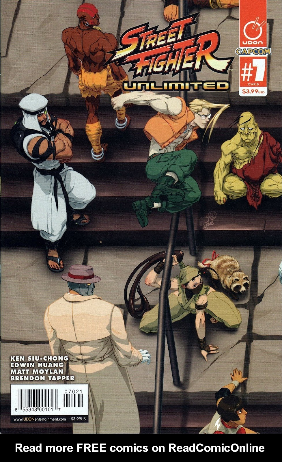 Street Fighter Unlimited Issue #7 #9 - English 1