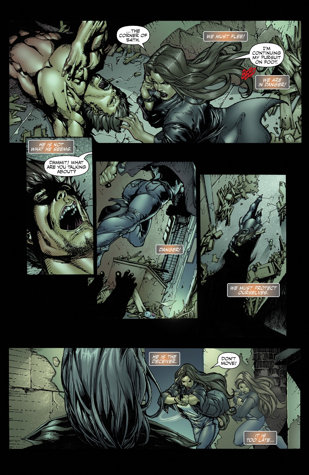 Read online Witchblade: Shades of Gray comic -  Issue #1 - 15