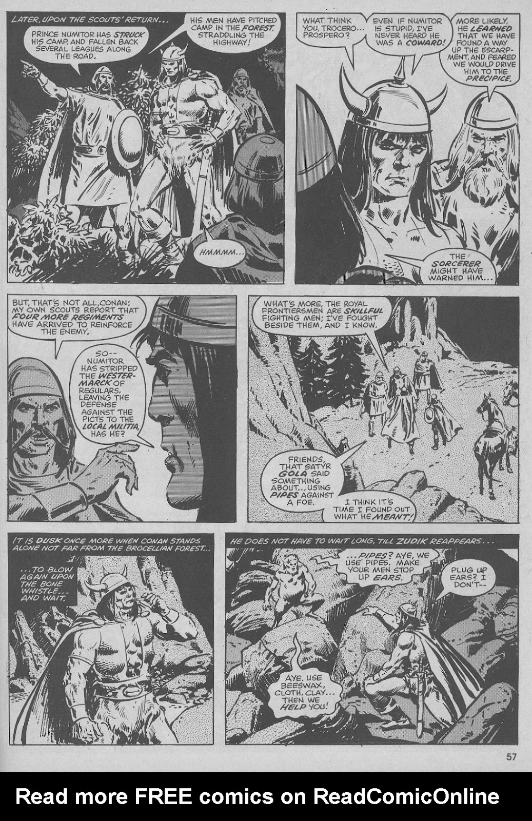 The Savage Sword Of Conan Issue #51 #52 - English 57