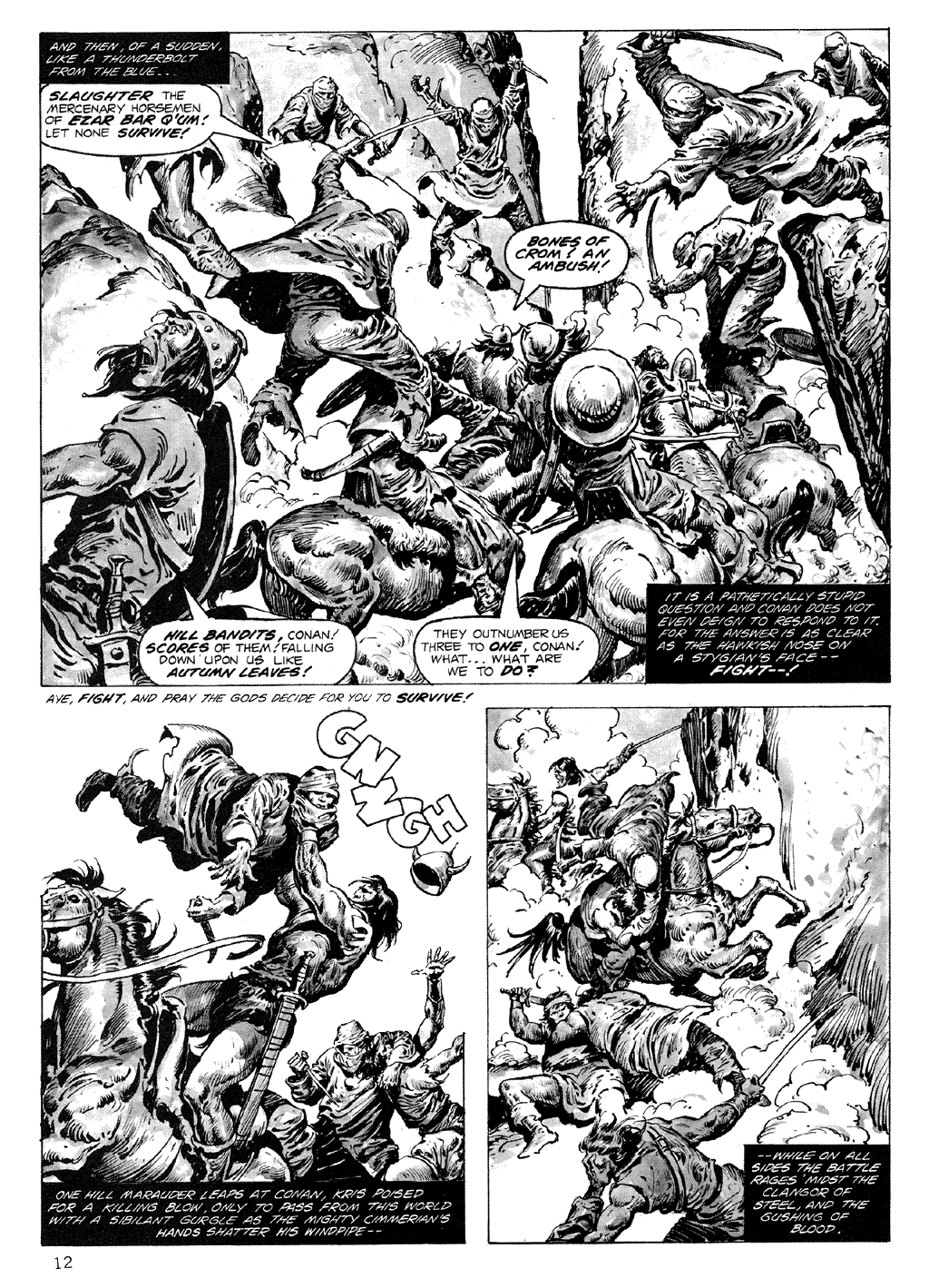 The Savage Sword Of Conan Issue #71 #72 - English 12