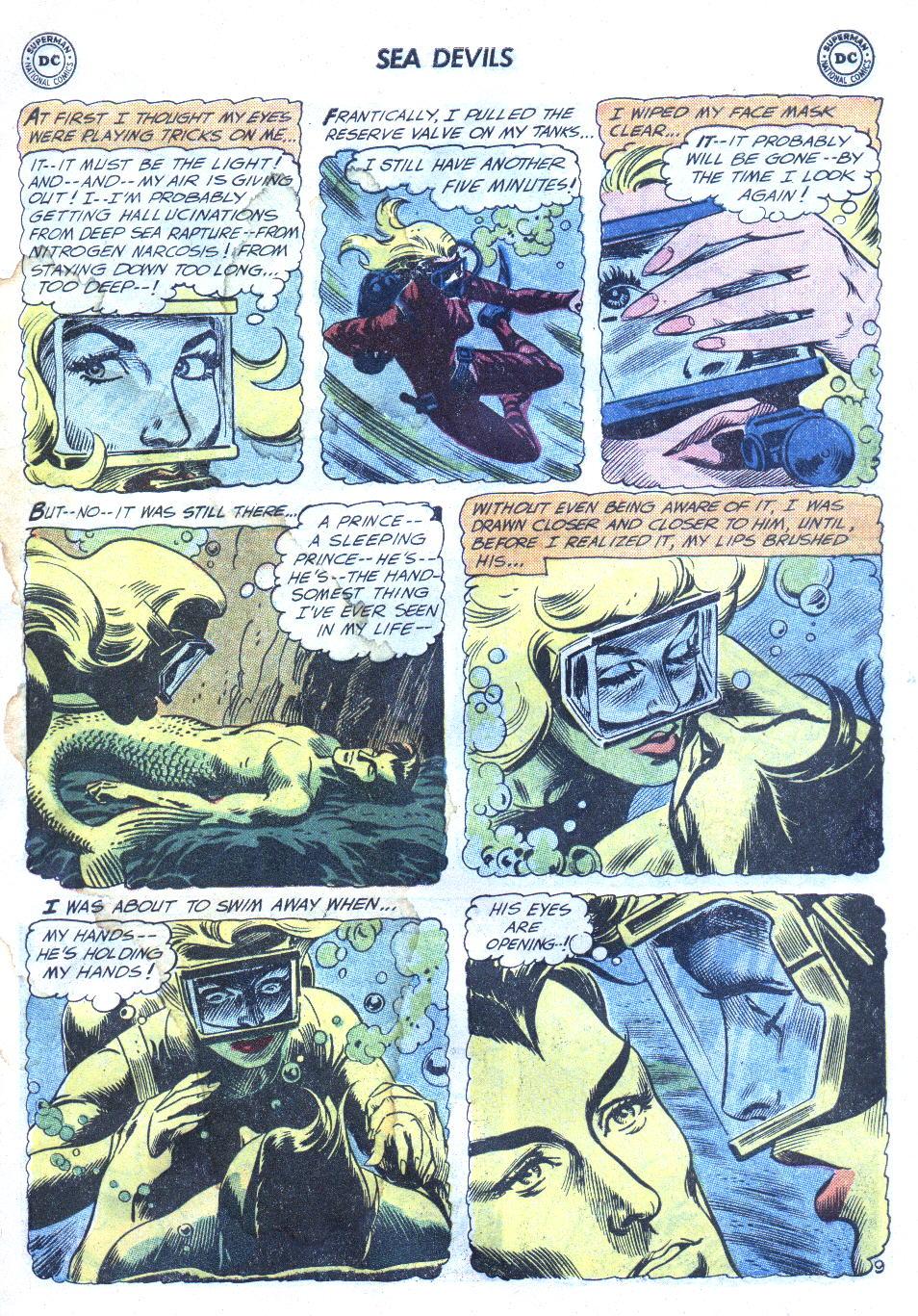 Read online Sea Devils comic -  Issue #4 - 12