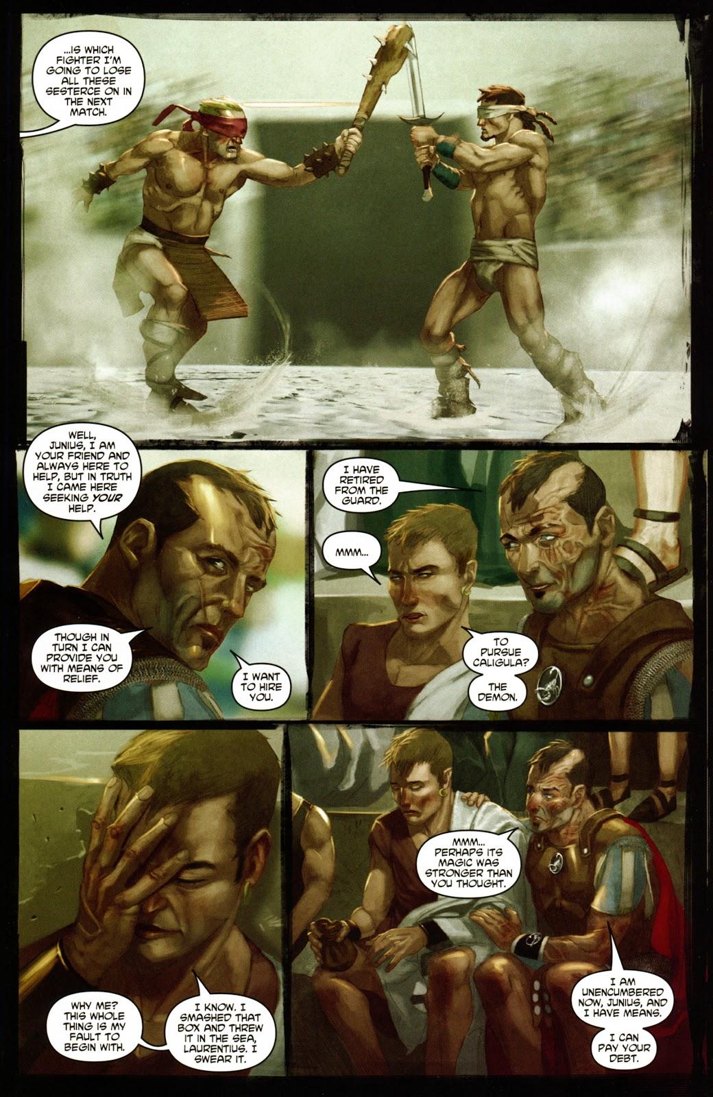 Caligula: Heart of Rome Issue #1 #1 - English 22