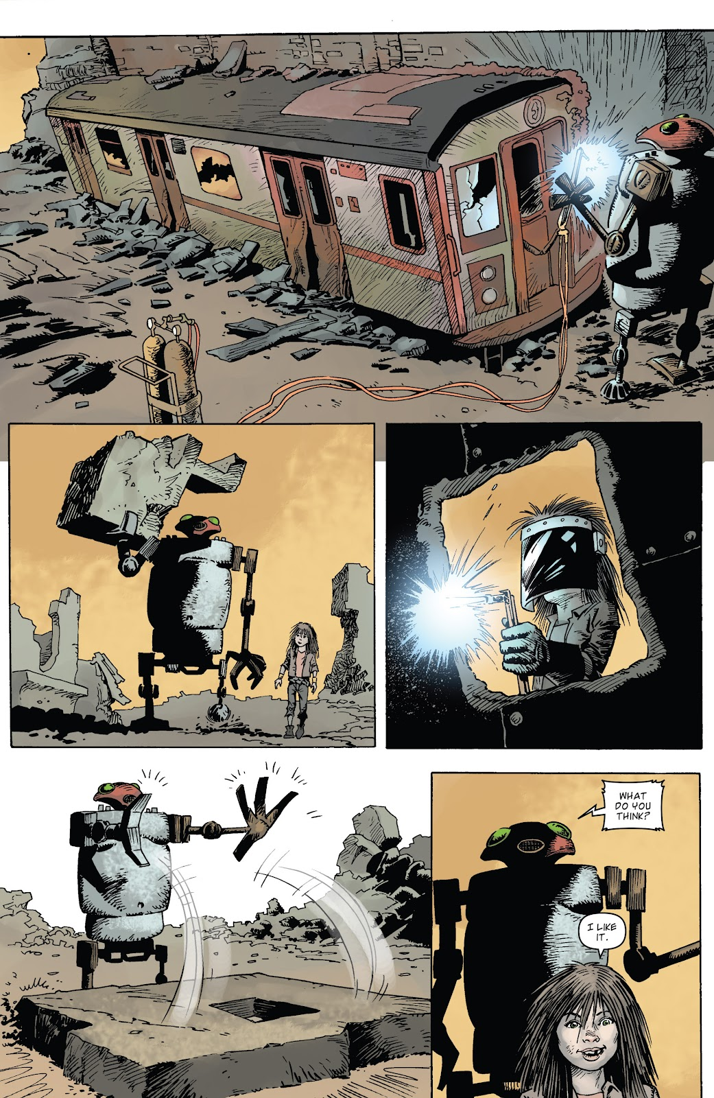 Zombies vs Robots (2015) Issue #4 Page 22