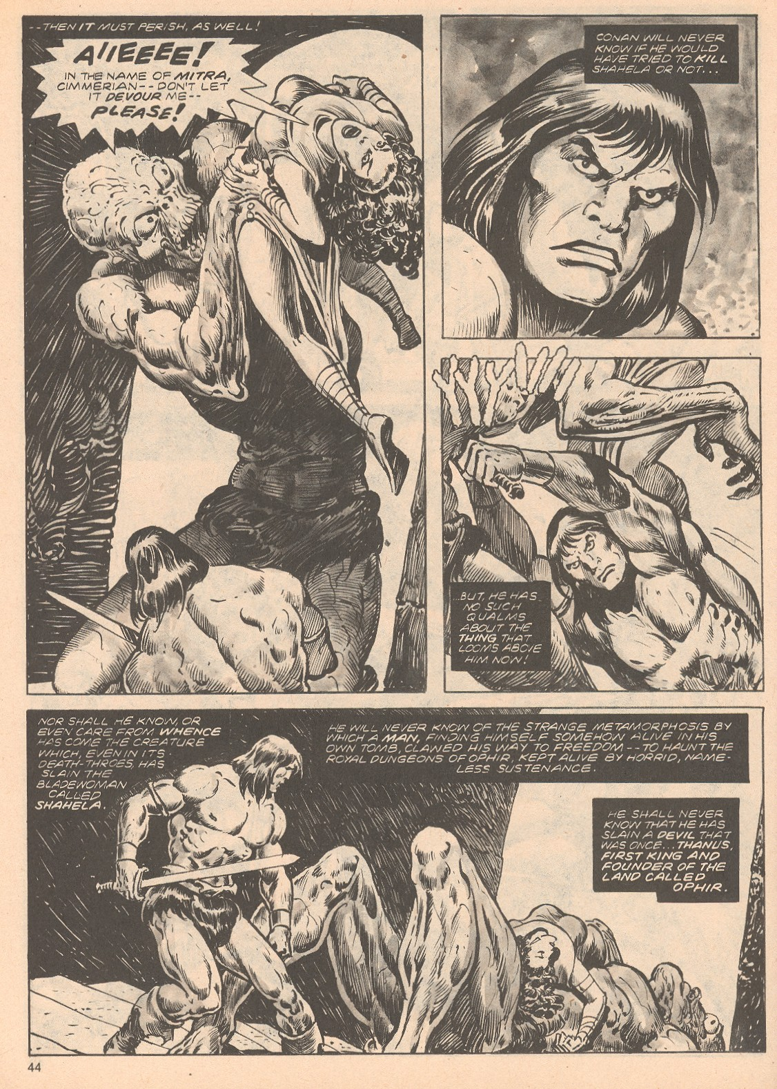 The Savage Sword Of Conan Issue #68 #69 - English 44
