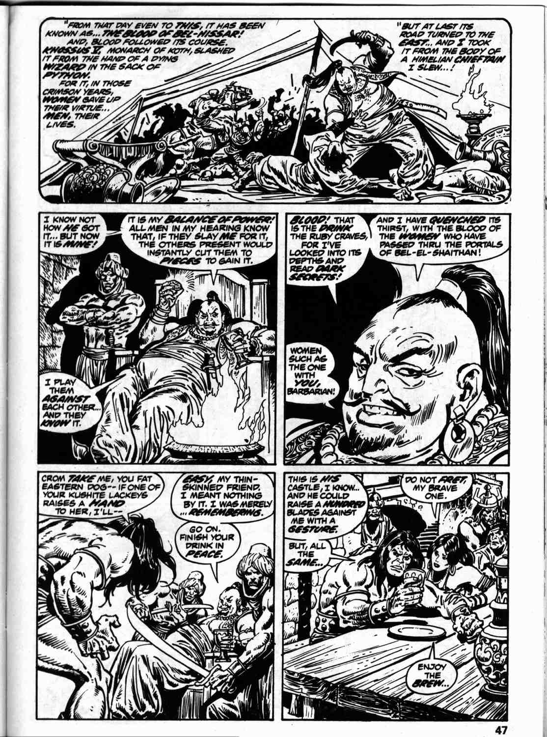 The Savage Sword Of Conan Issue #59 #60 - English 54
