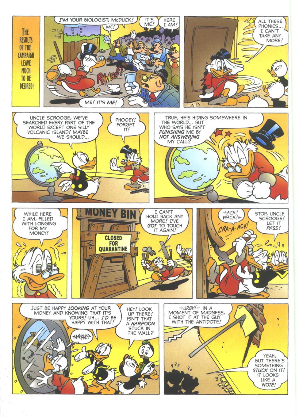 Uncle Scrooge (1953) Issue #351 #351 - English 8