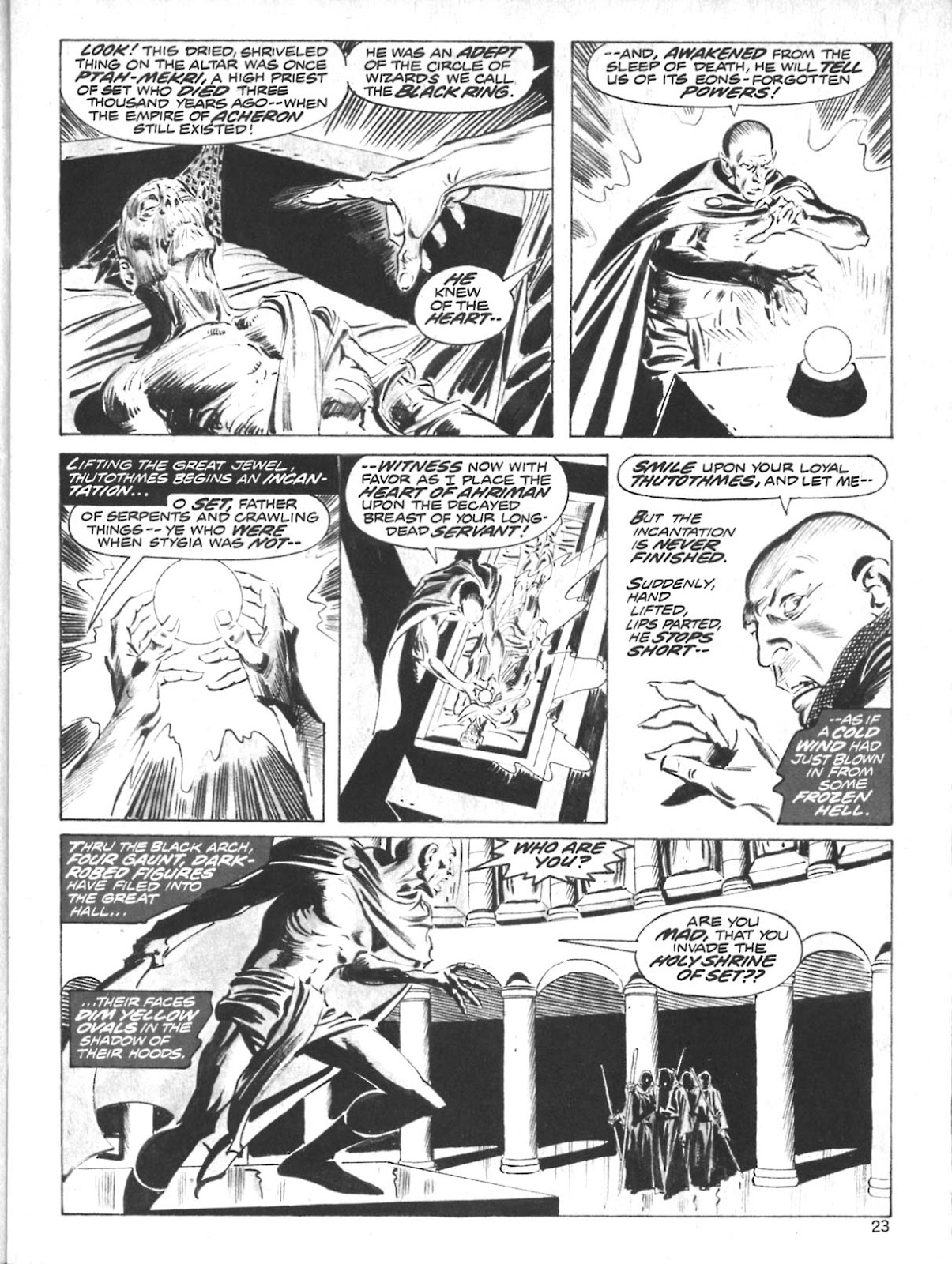 The Savage Sword Of Conan Issue #10 #11 - English 21