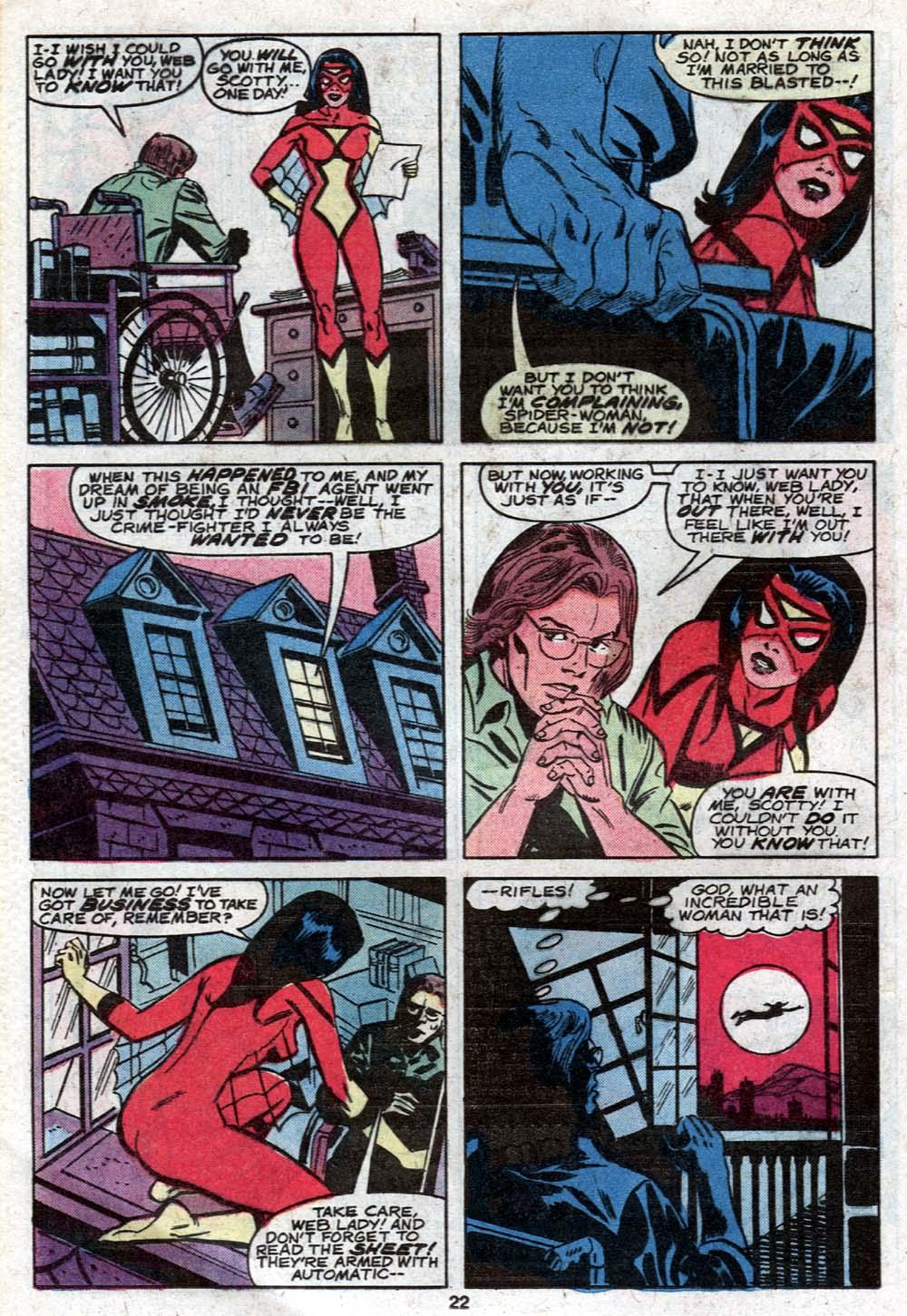 Spider-Woman (1978) #21 #30 - English 14