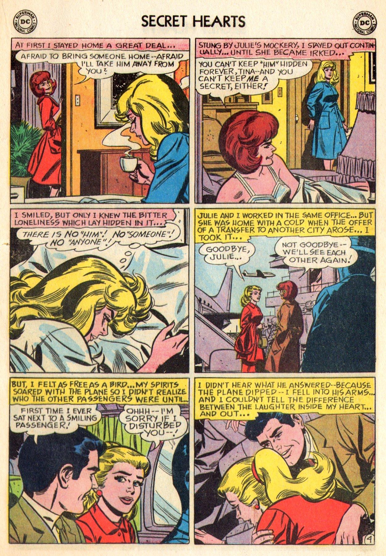 Read online Secret Hearts comic -  Issue #84 - 21