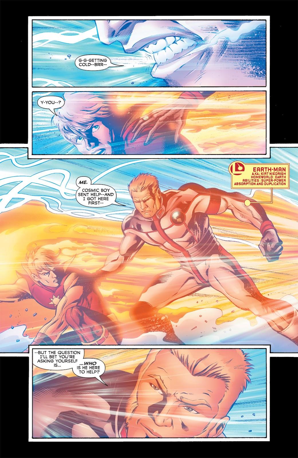 Legion of Super-Heroes (2010) Issue #5 #6 - English 16