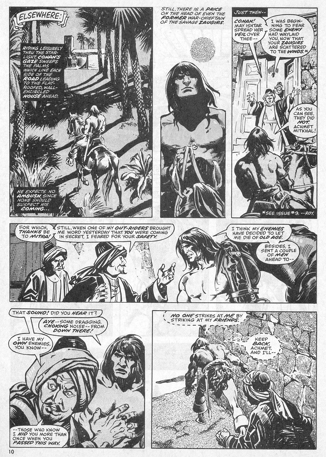 The Savage Sword Of Conan Issue #28 #29 - English 10