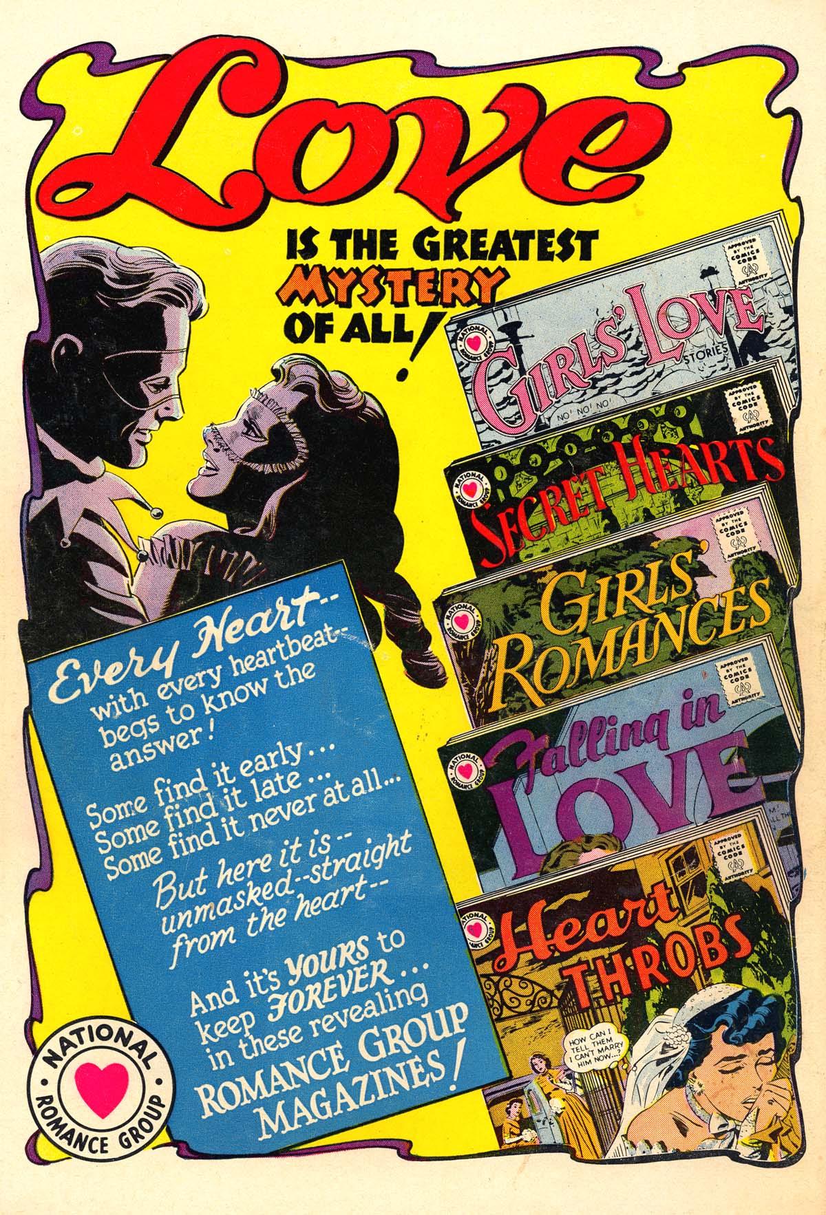 Read online Secret Hearts comic -  Issue #56 - 36