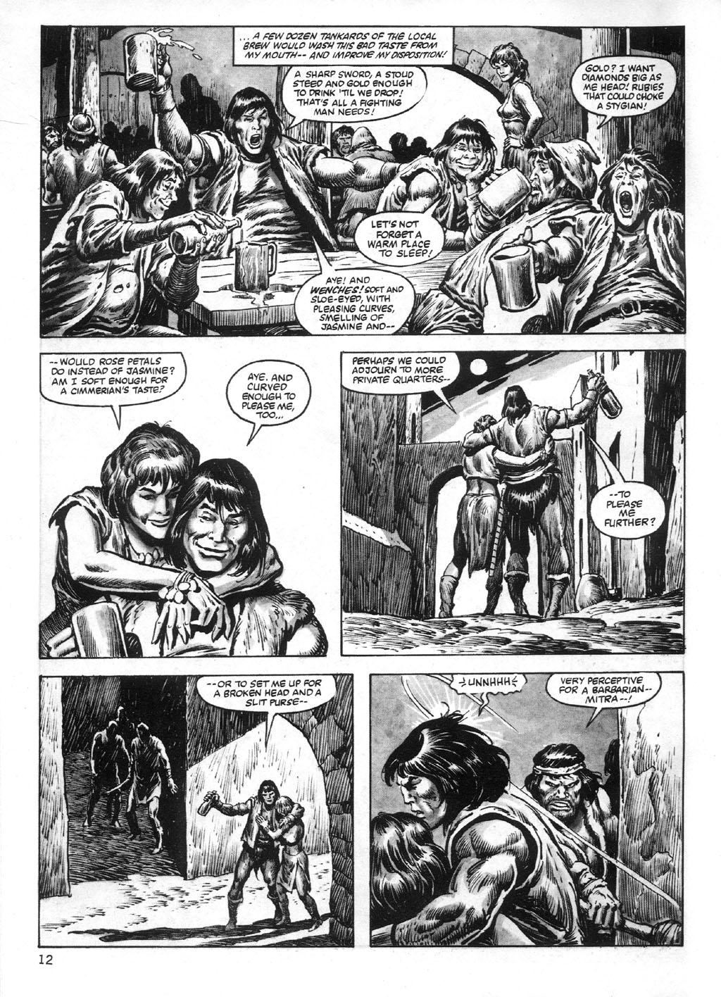 The Savage Sword Of Conan Issue #95 #96 - English 12