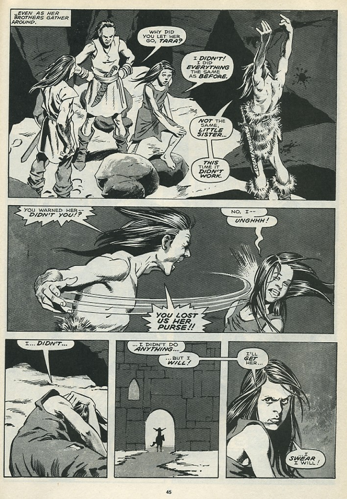 The Savage Sword Of Conan Issue #172 #173 - English 47