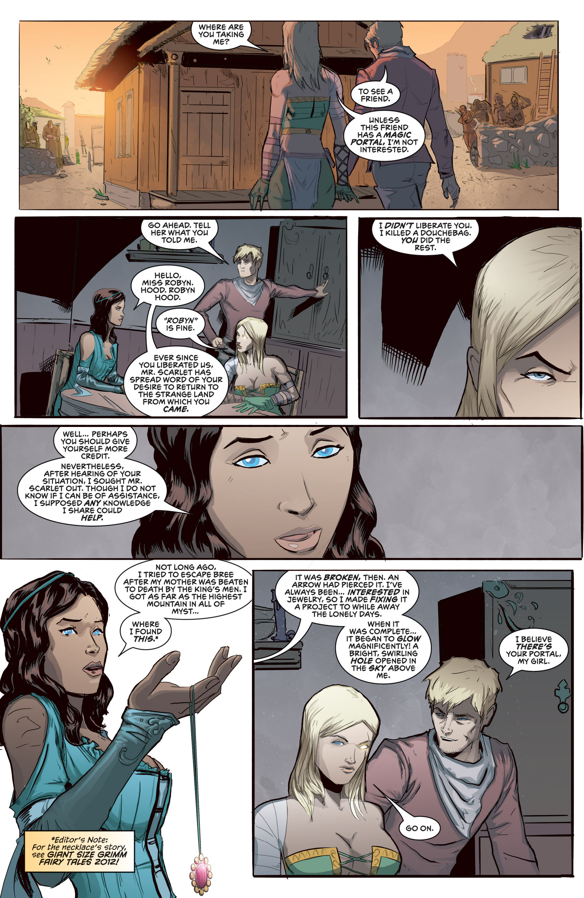 Read online Grimm Fairy Tales presents Robyn Hood (2012) comic -  Issue #5 - 12