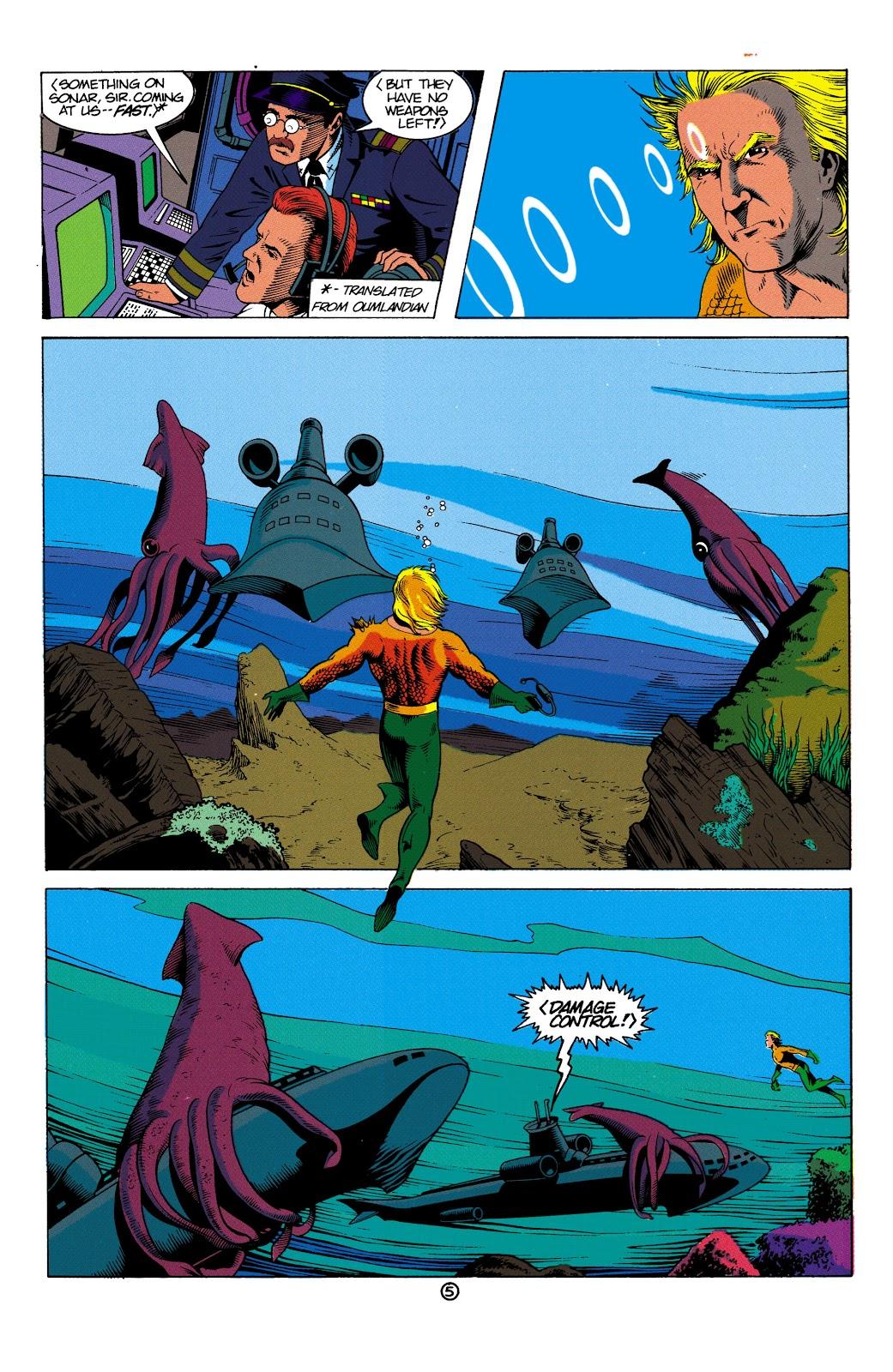 Aquaman (1991) Issue #2 #2 - English 6