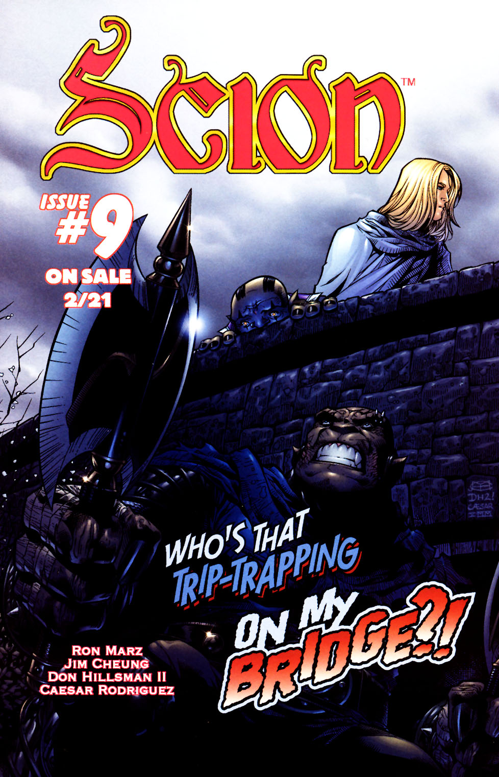 Read online Scion comic -  Issue #8 - 24