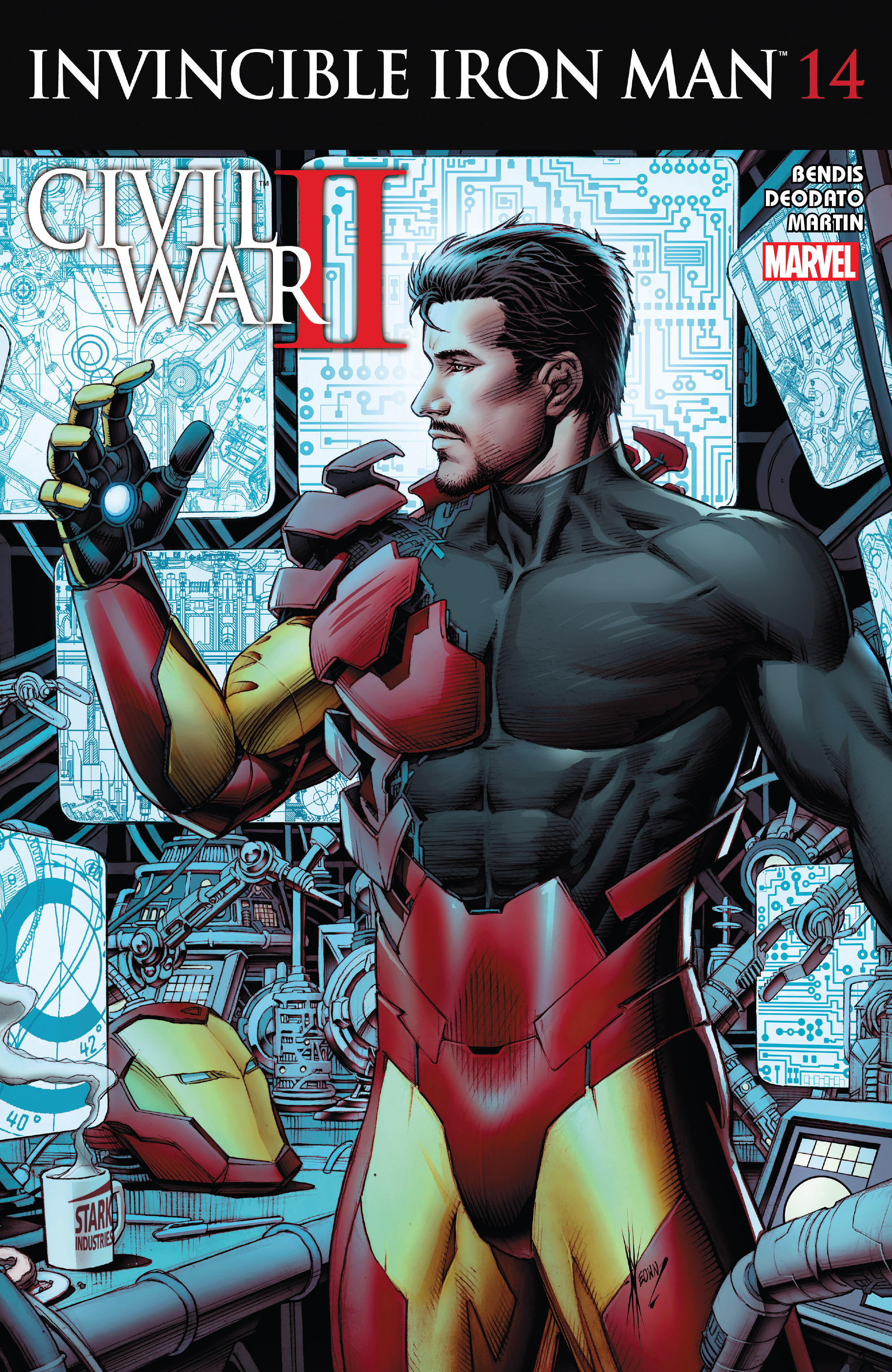 Invincible Iron Man (2015) 14 Page 1