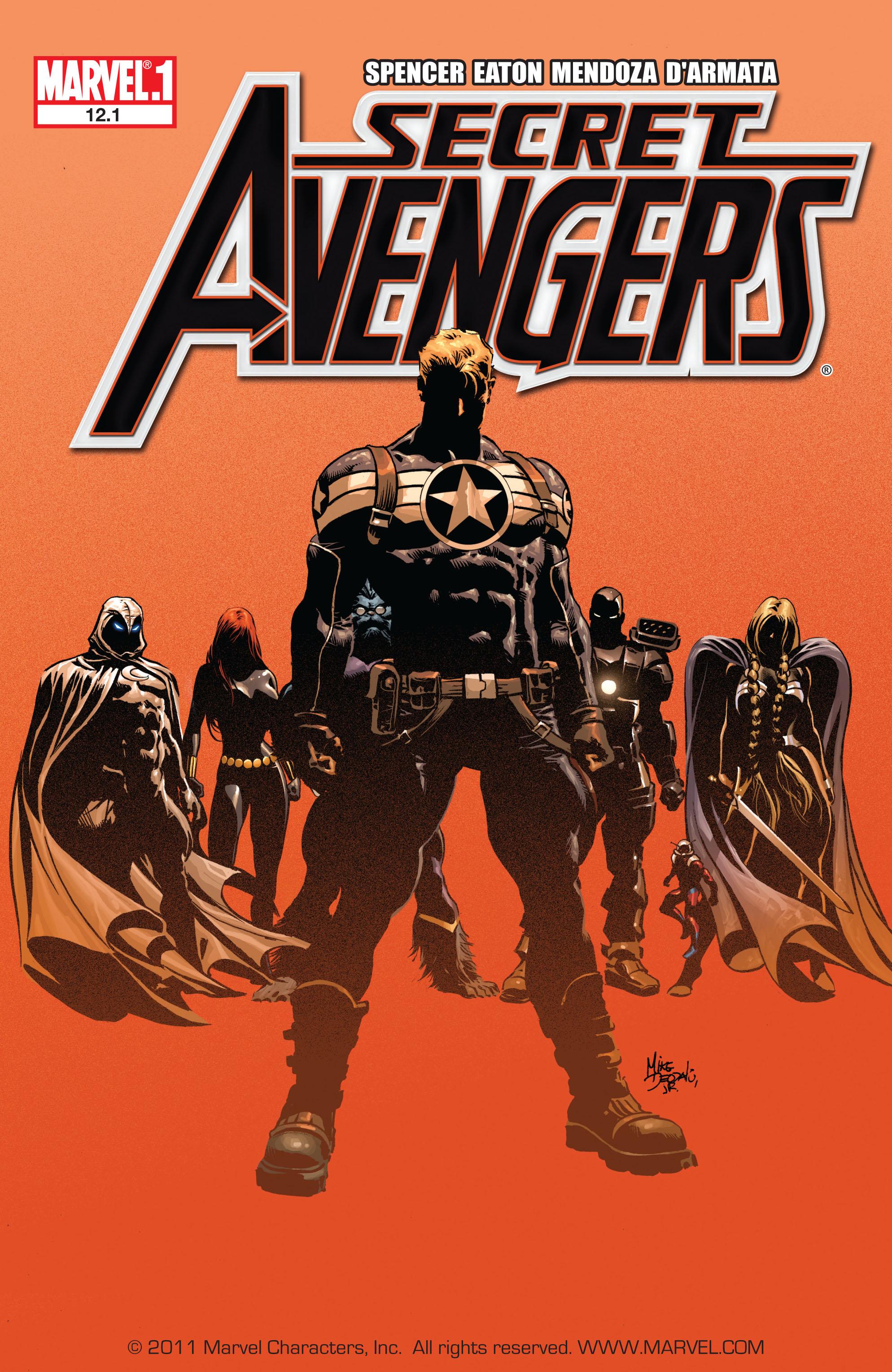 Read online Secret Avengers (2010) comic -  Issue #12.1 - 1
