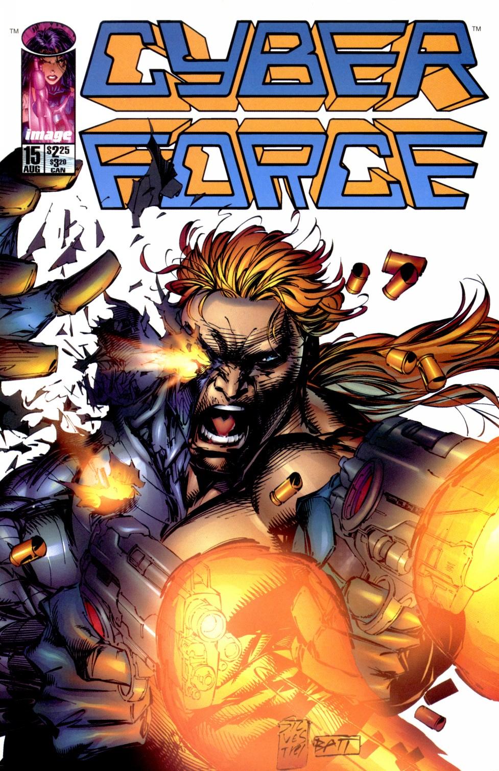 Cyberforce (1993) 15 Page 1