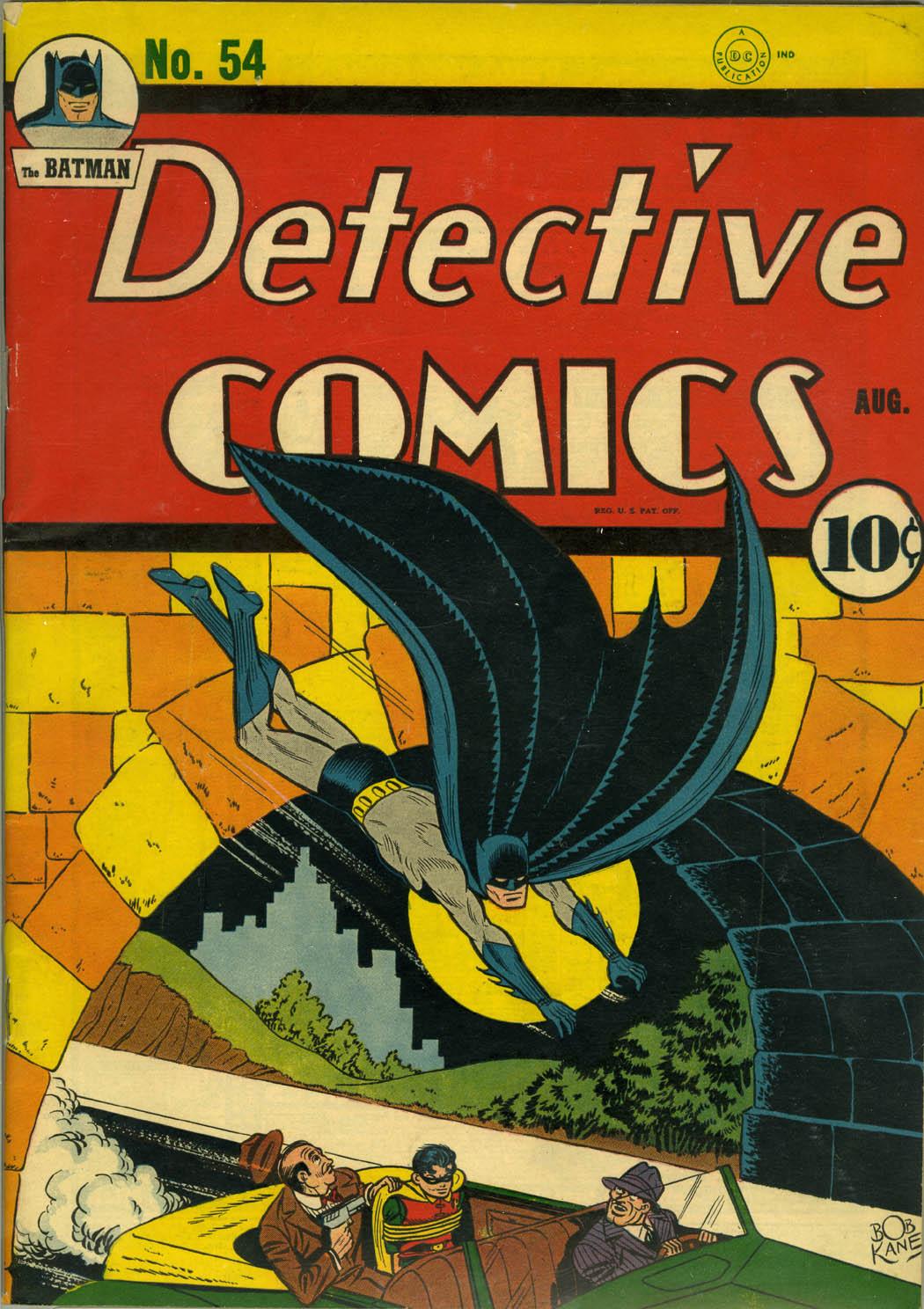 Detective Comics (1937) 54 Page 1