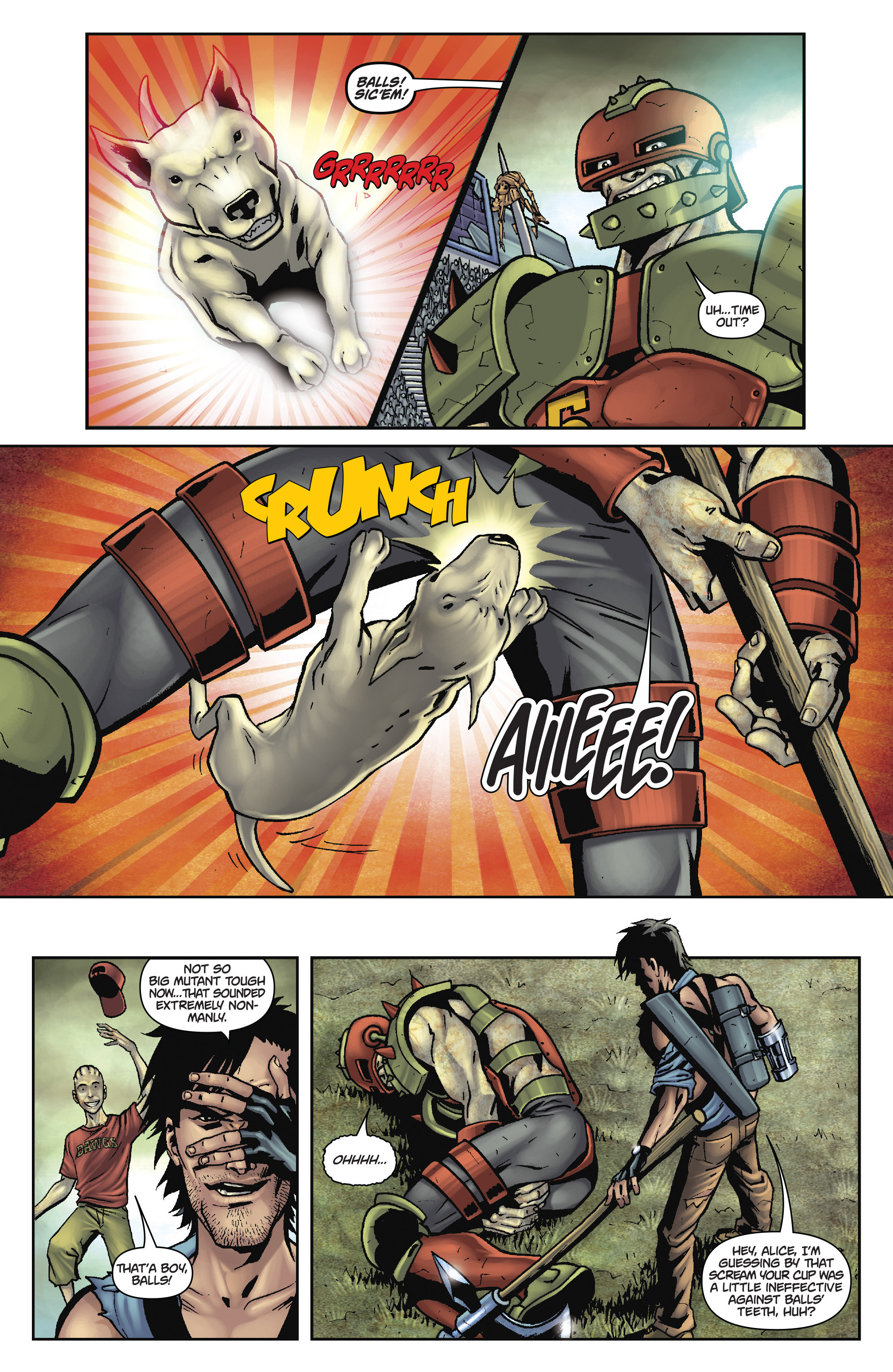 Army of Darkness: The Long Road Home TPB Page 59