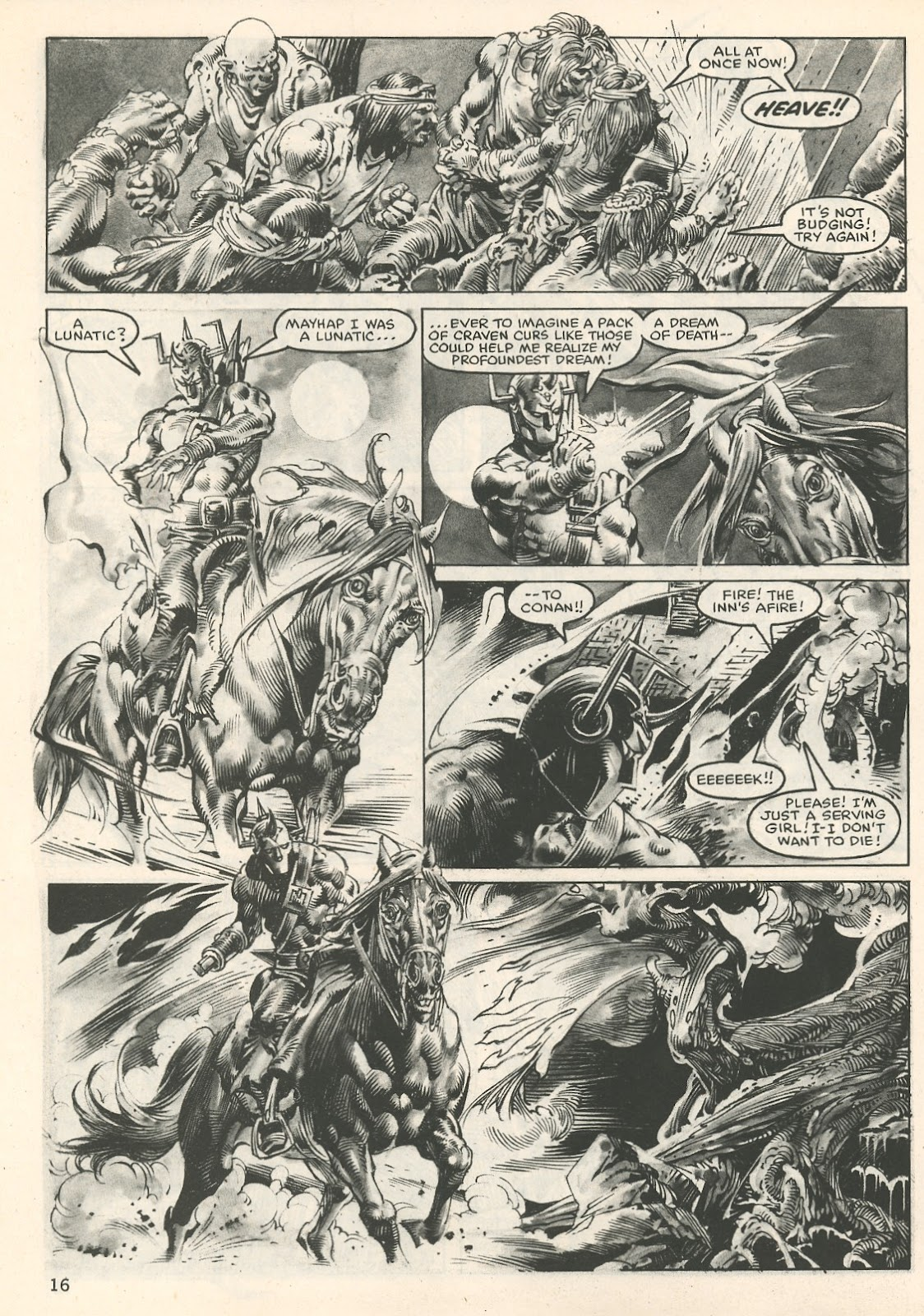 The Savage Sword Of Conan Issue #107 #108 - English 16
