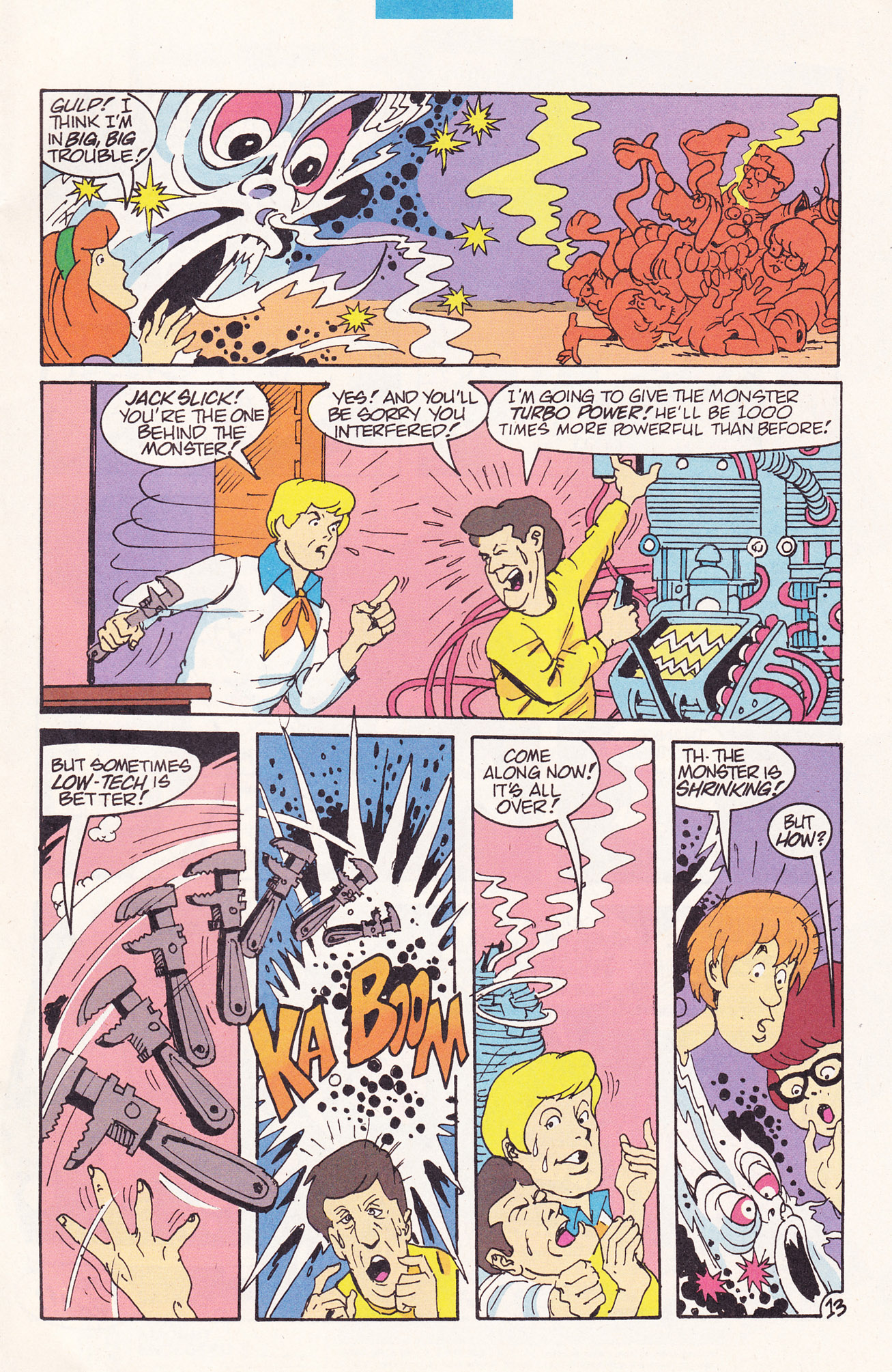 Read online Scooby-Doo (1995) comic -  Issue #19 - 17