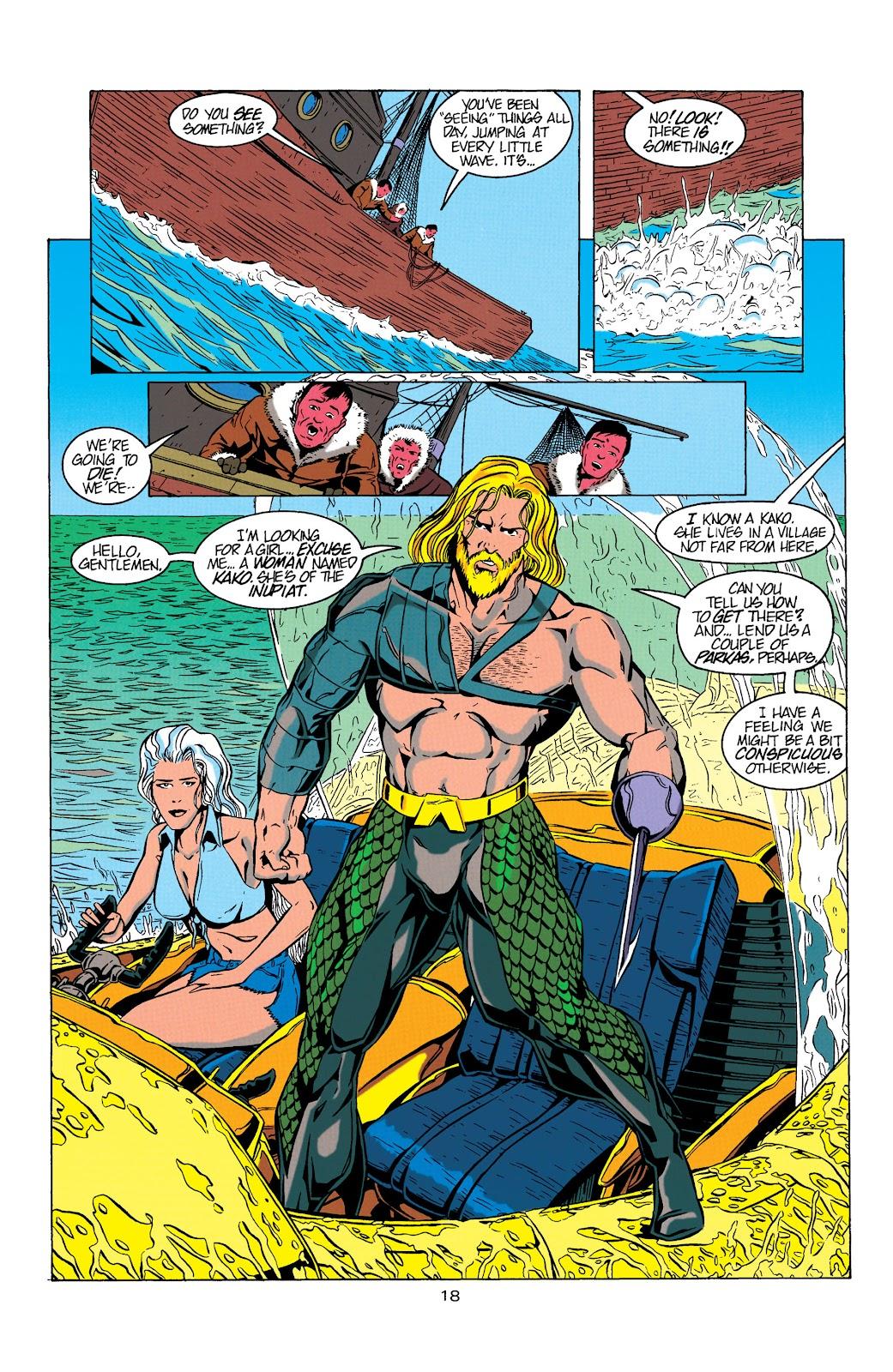 Aquaman (1994) Issue #5 #11 - English 19