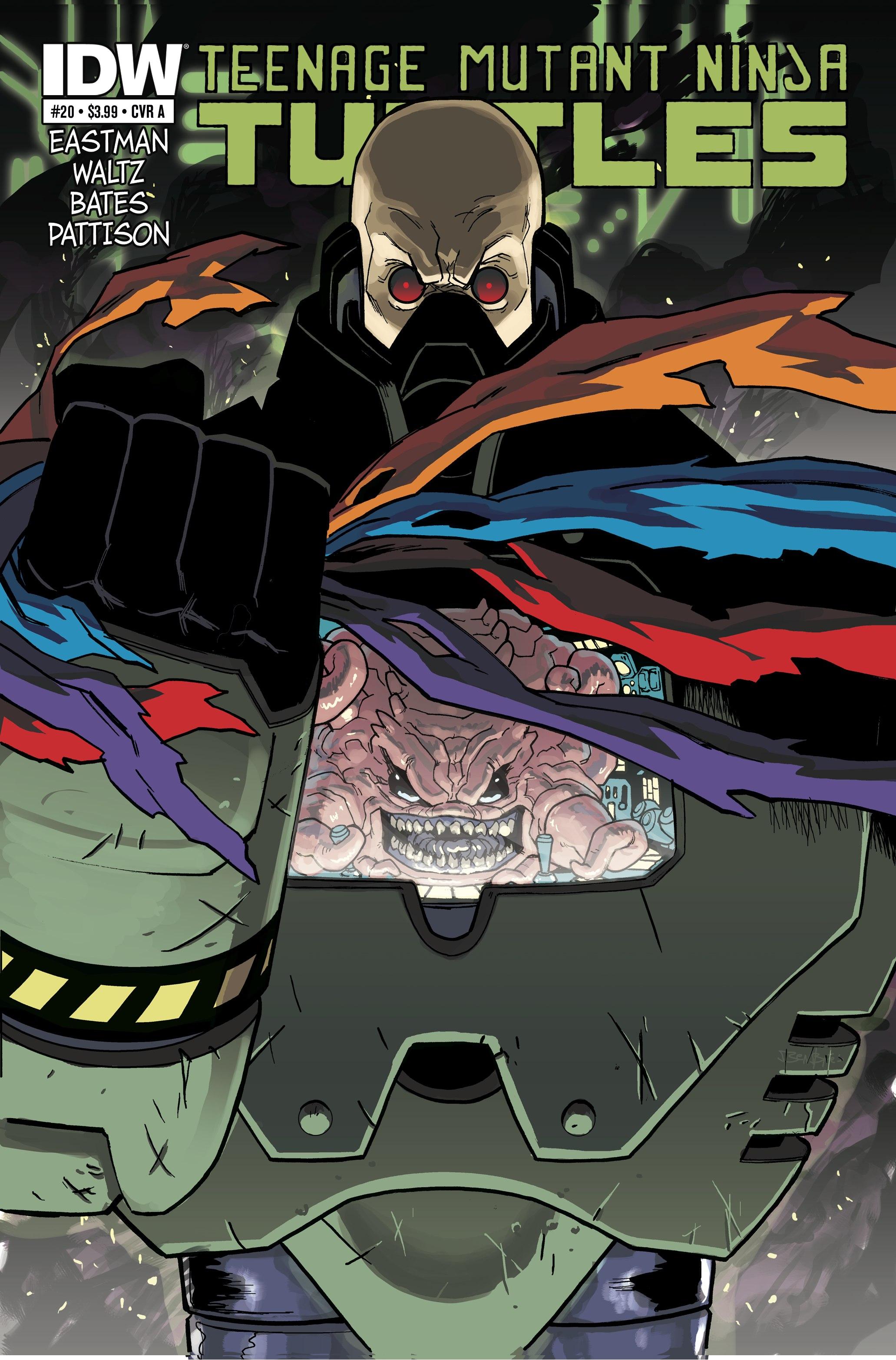 Teenage Mutant Ninja Turtles (2011) 20 Page 1