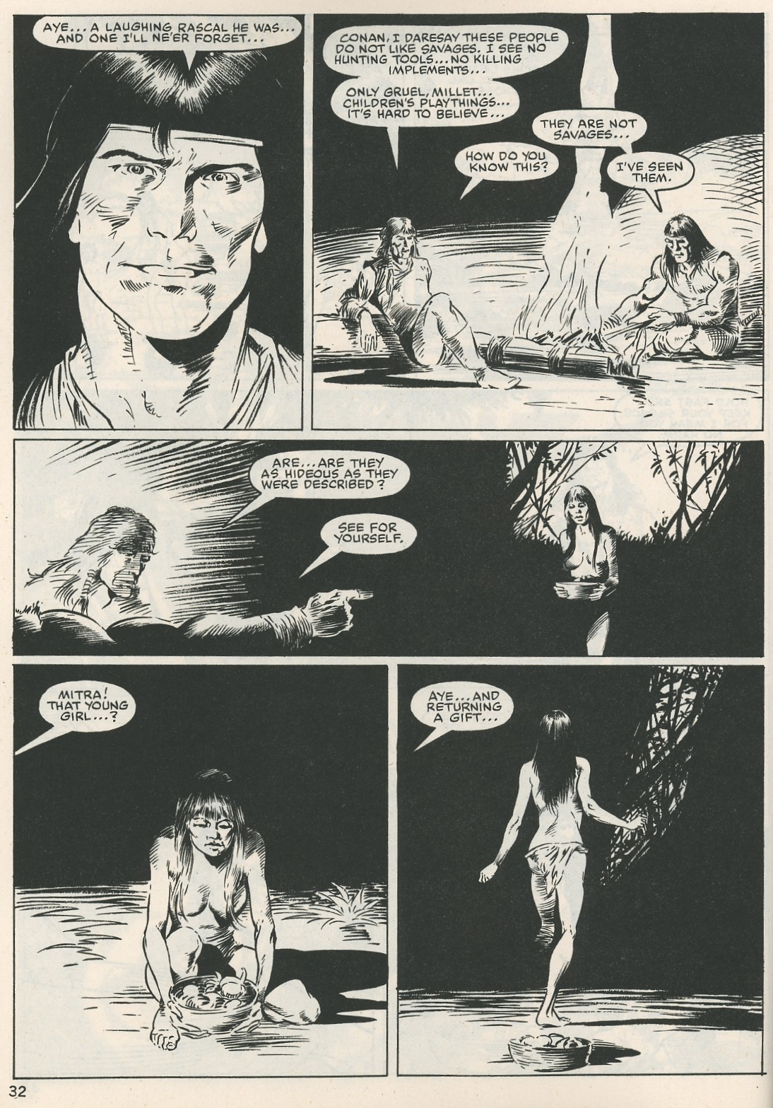 The Savage Sword Of Conan Issue #115 #116 - English 32