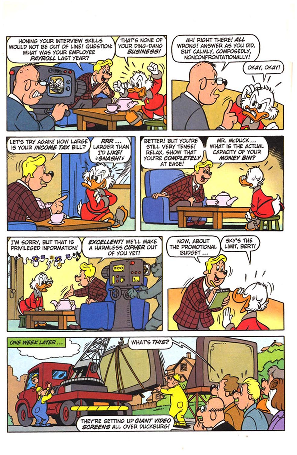 Uncle Scrooge (1953) Issue #307 #307 - English 21