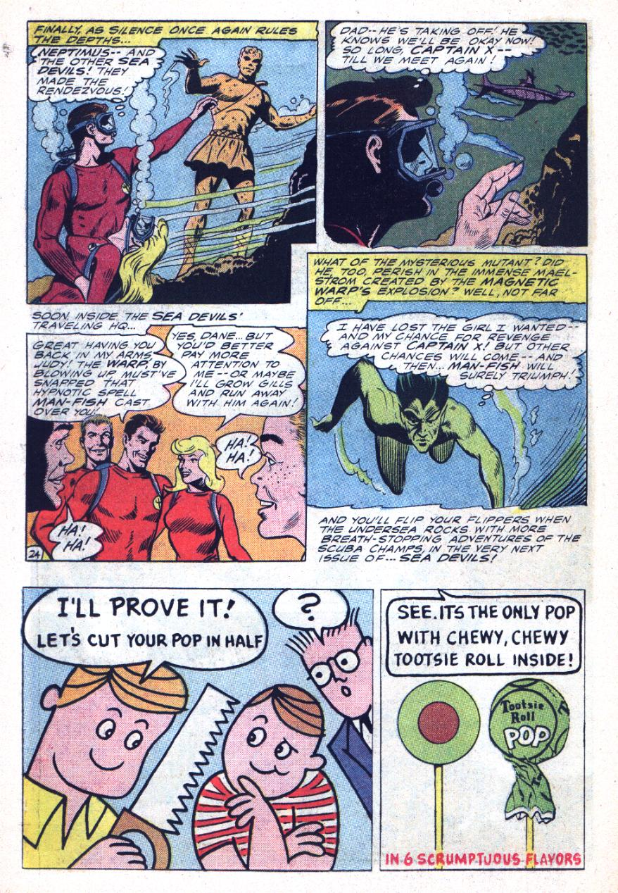 Read online Sea Devils comic -  Issue #26 - 35