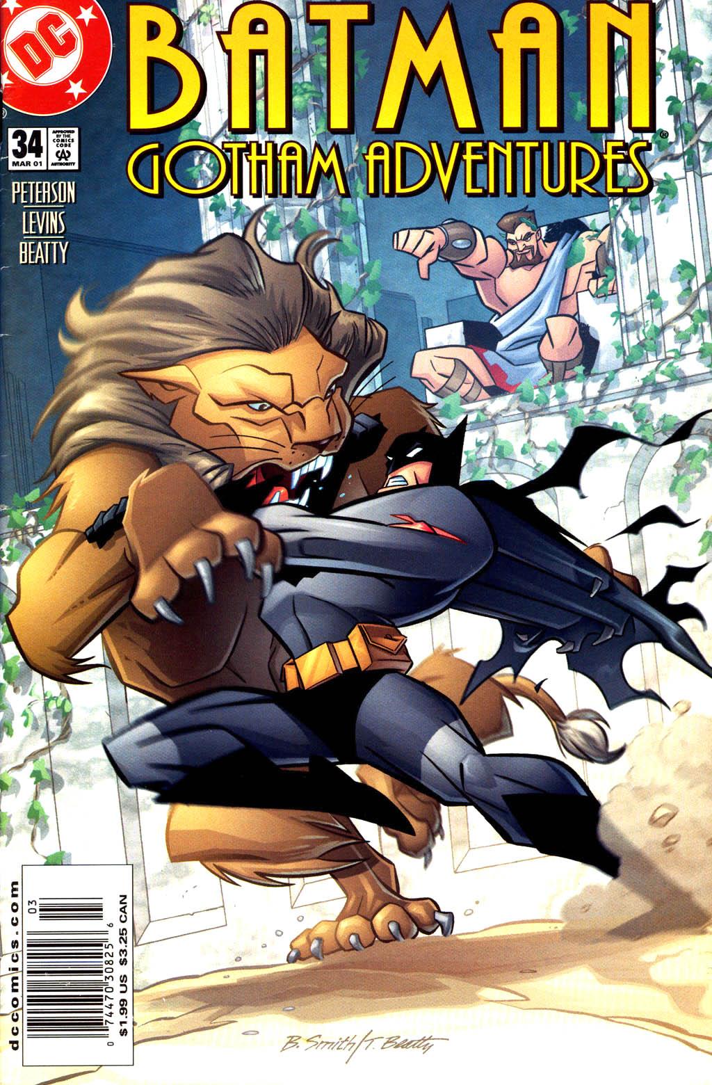 Batman: Gotham Adventures 34 Page 1