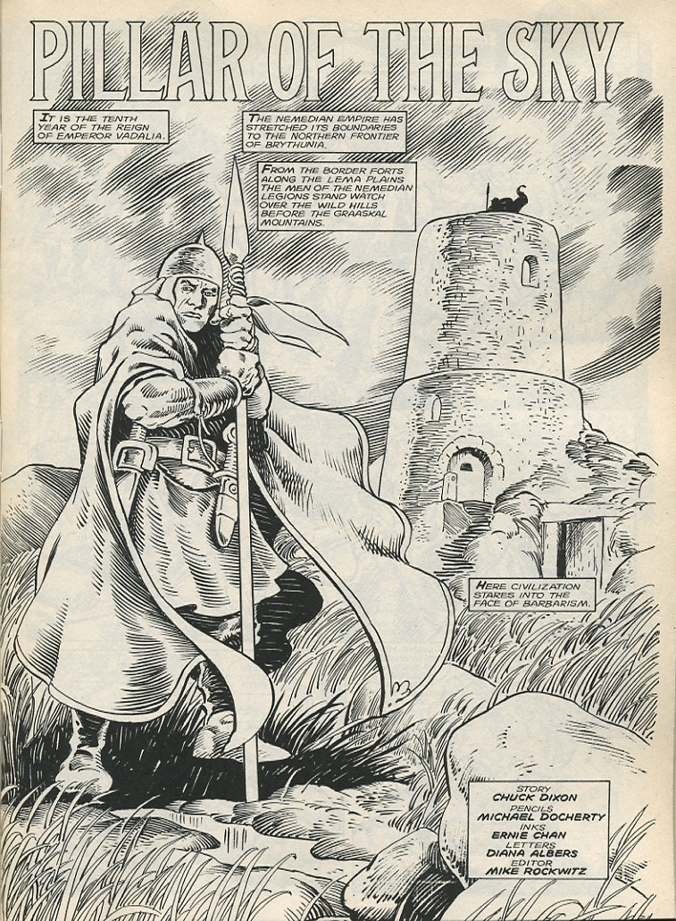 The Savage Sword Of Conan Issue #178 #179 - English 3