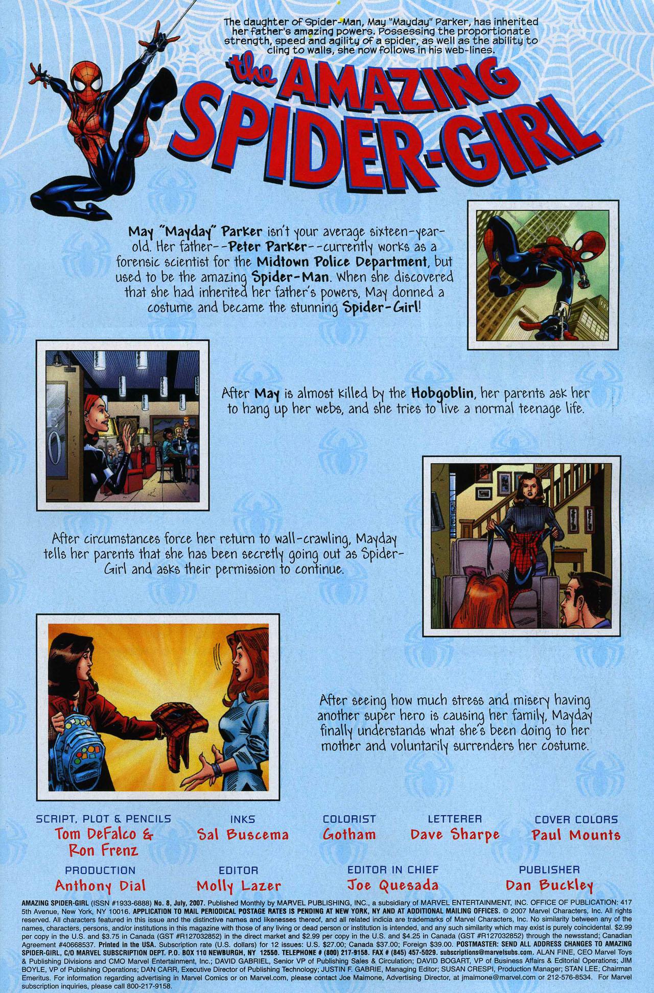 Amazing Spider-Girl #8 #23 - English 2
