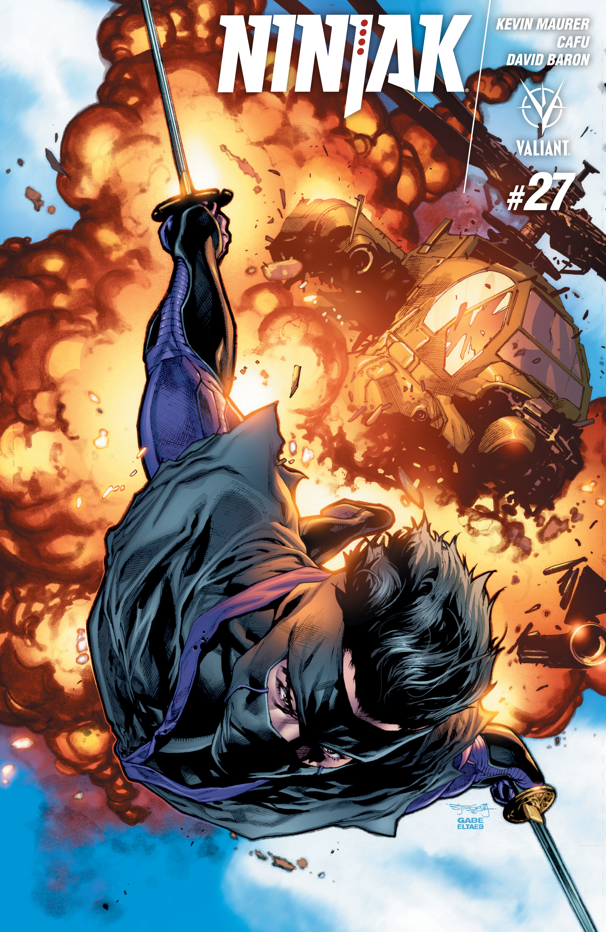 Ninjak (2015) issue 27 - Page 1