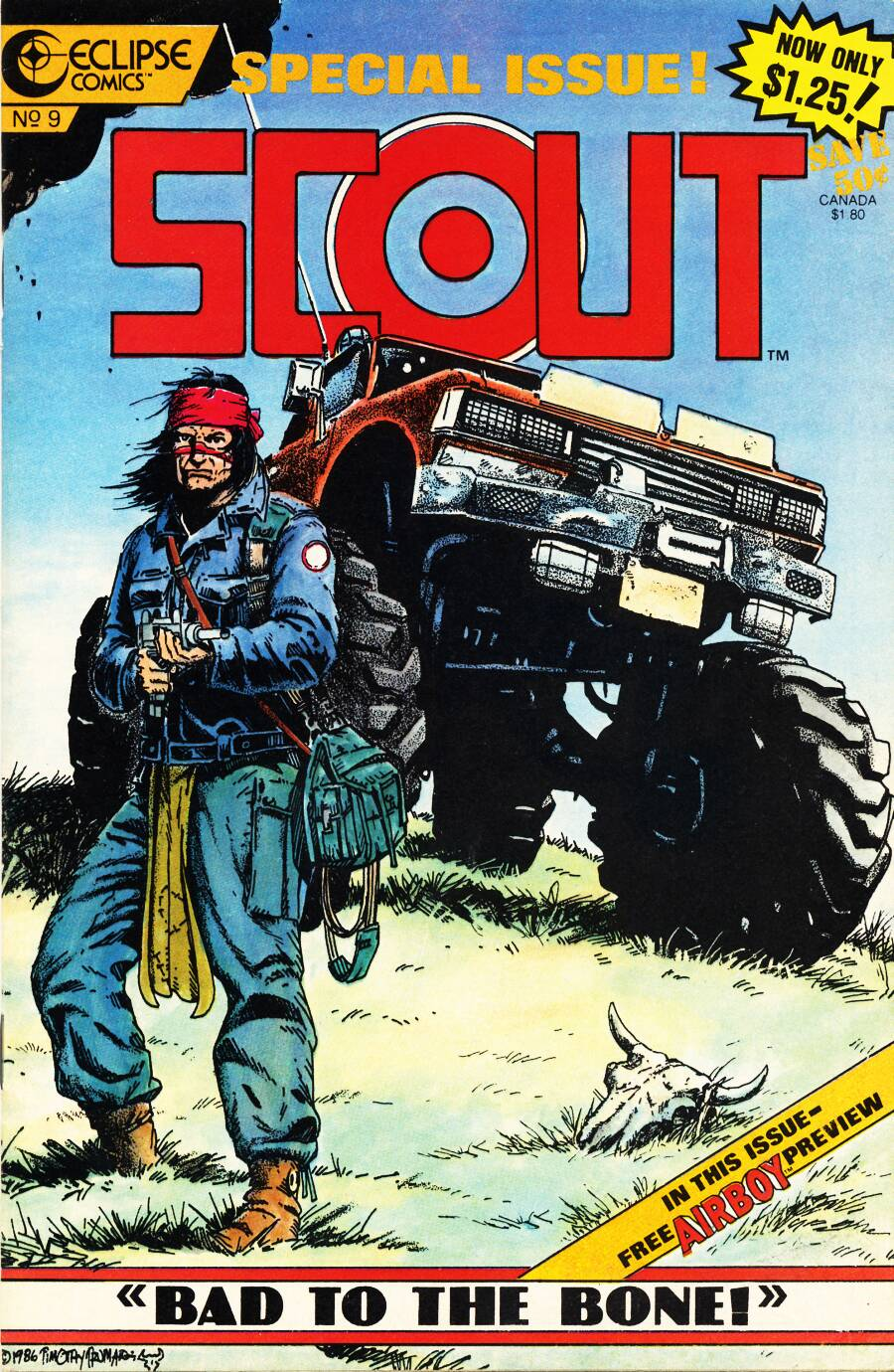 Read online Scout comic -  Issue #9 - 1