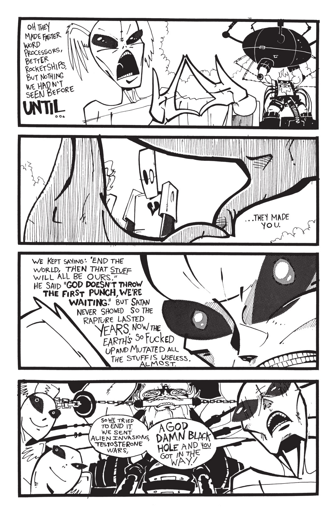 Read online Scud: The Disposable Assassin: The Whole Shebang comic -  Issue # TPB (Part 4) - 8