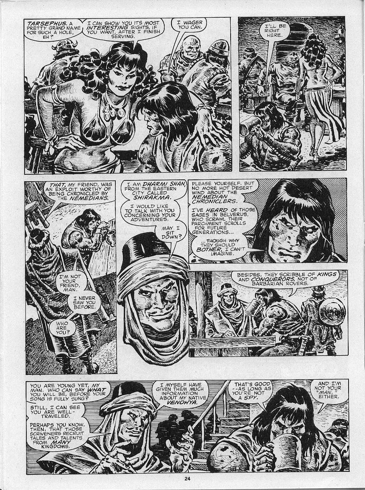 The Savage Sword Of Conan Issue #200 #201 - English 26