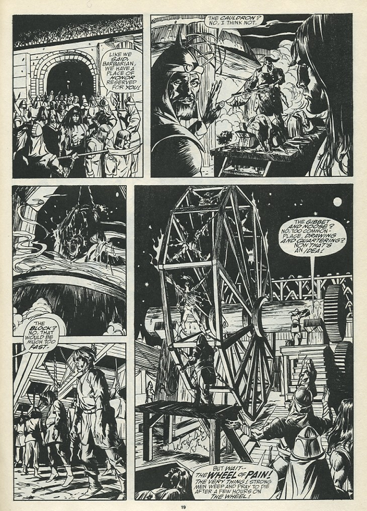 The Savage Sword Of Conan Issue #185 #186 - English 21