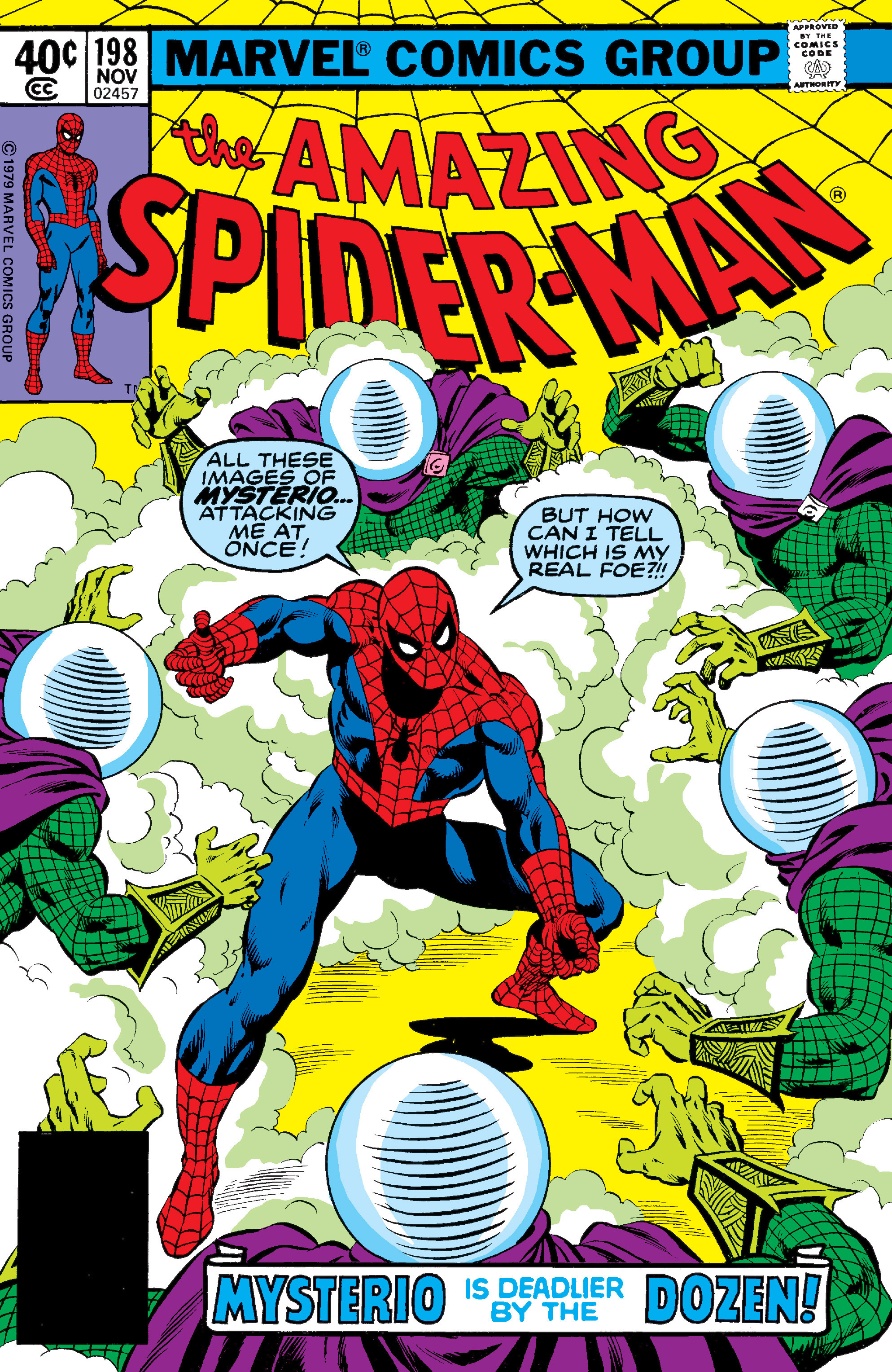 The Amazing Spider-Man (1963) 198 Page 1
