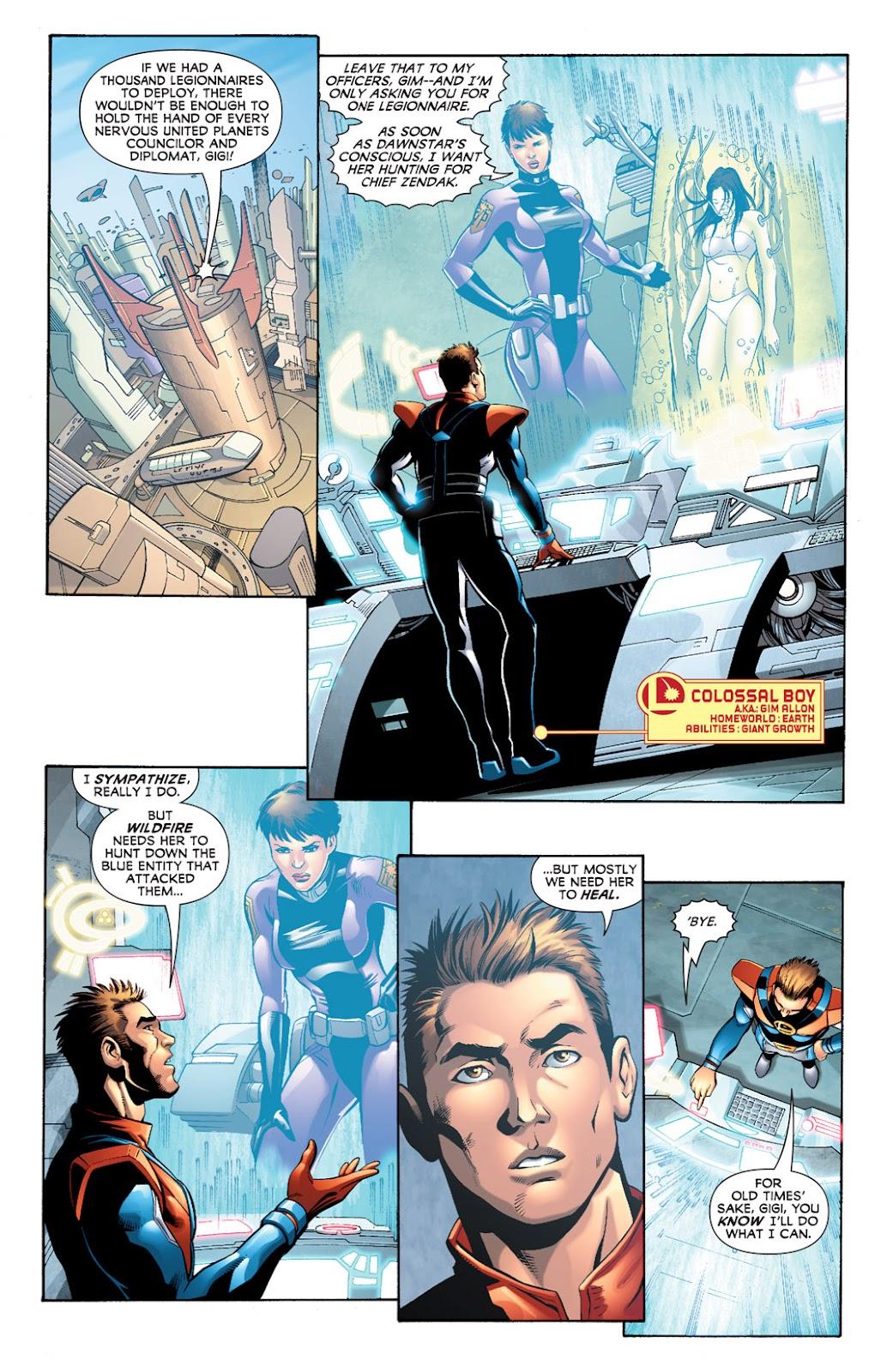 Legion of Super-Heroes (2010) Issue #9 #10 - English 9